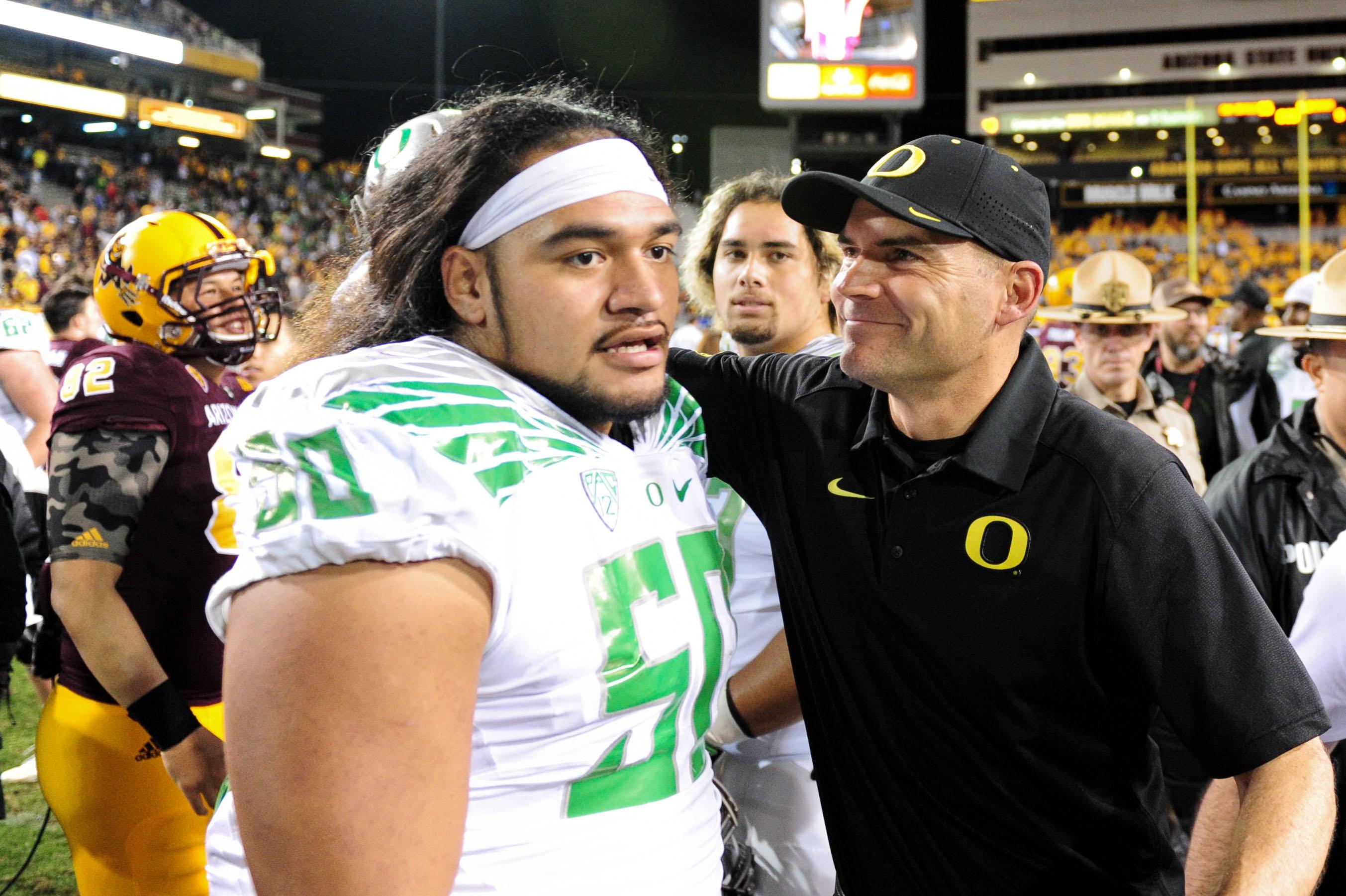 NCAA Football: Oregon at Arizona State