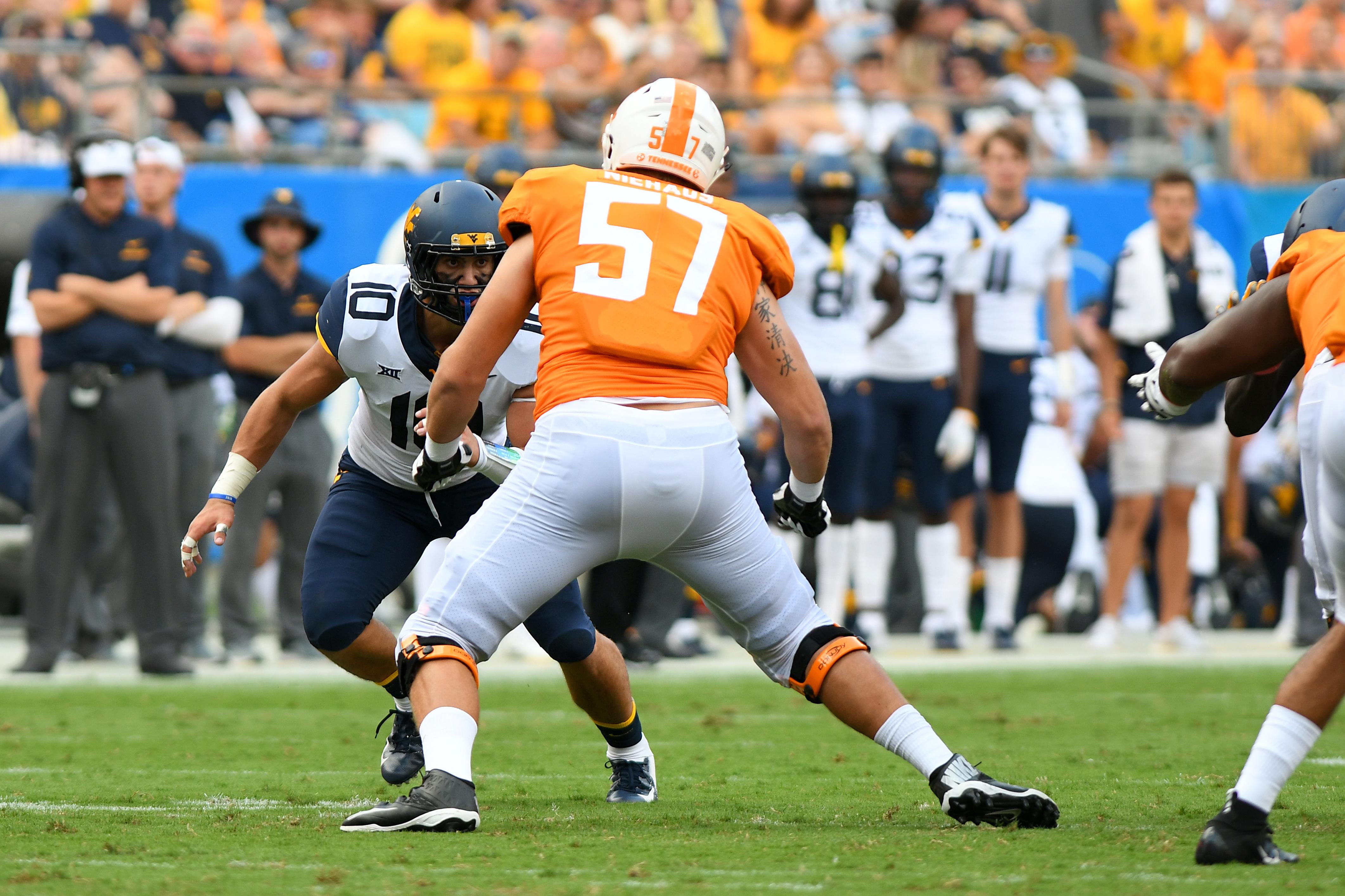 COLLEGE FOOTBALL: SEP 01 Belk College Kickoff - Tennessee v West Virginia