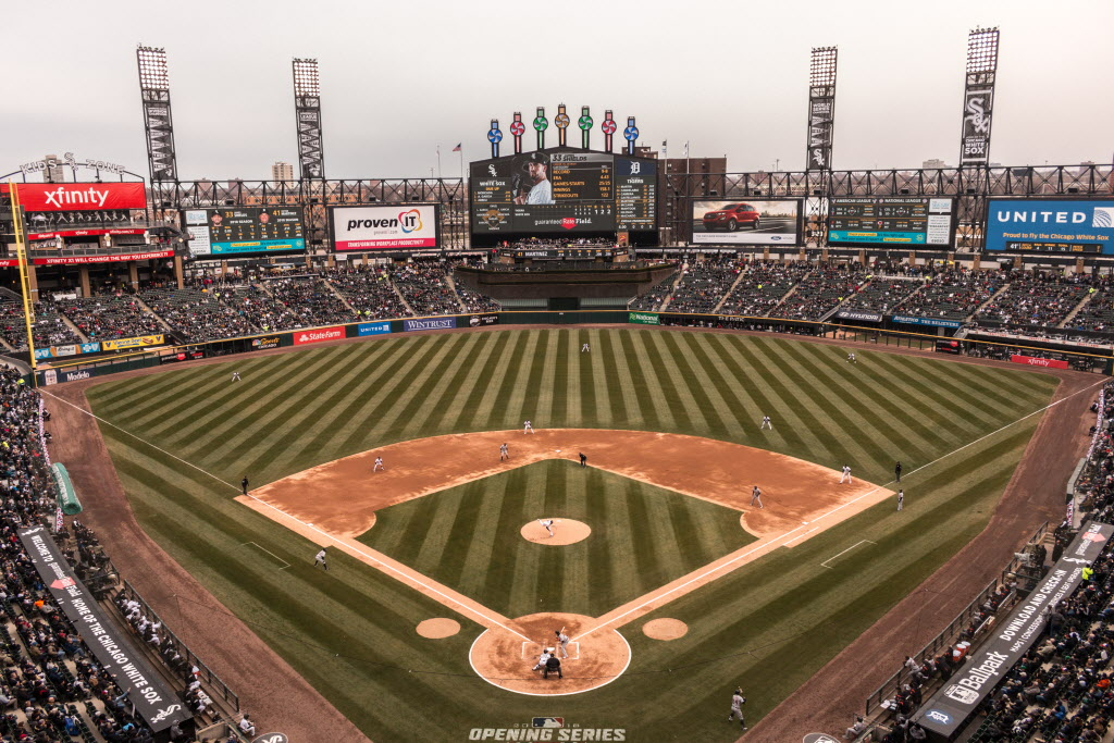 The White Sox play at Guaranteed Rate Field. | Erin Brown/Sun-Times