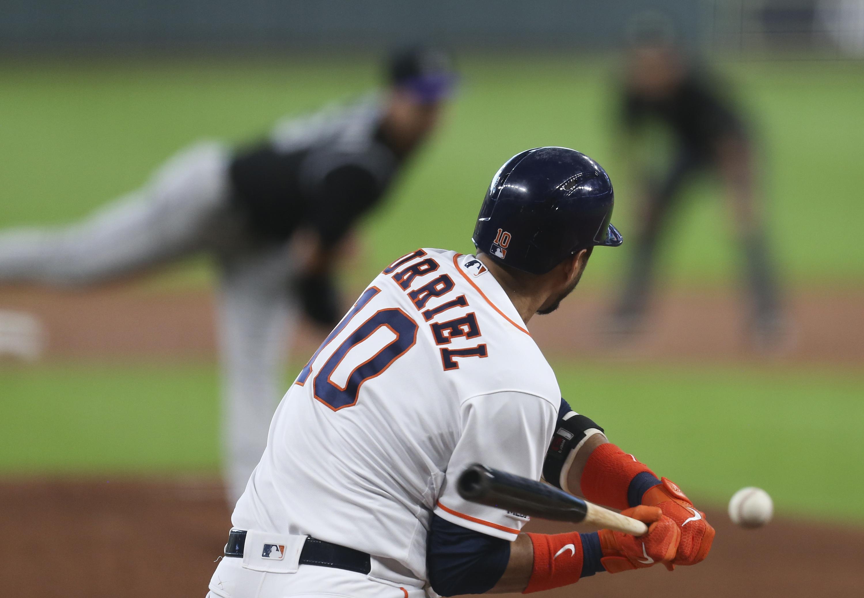 MLB: Colorado Rockies at Houston Astros