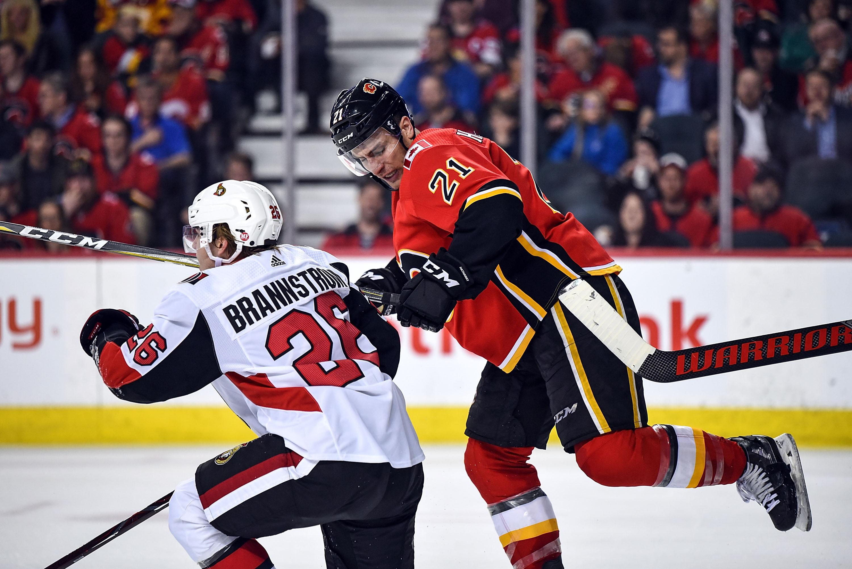 NHL: MAR 21 Senators at Flames