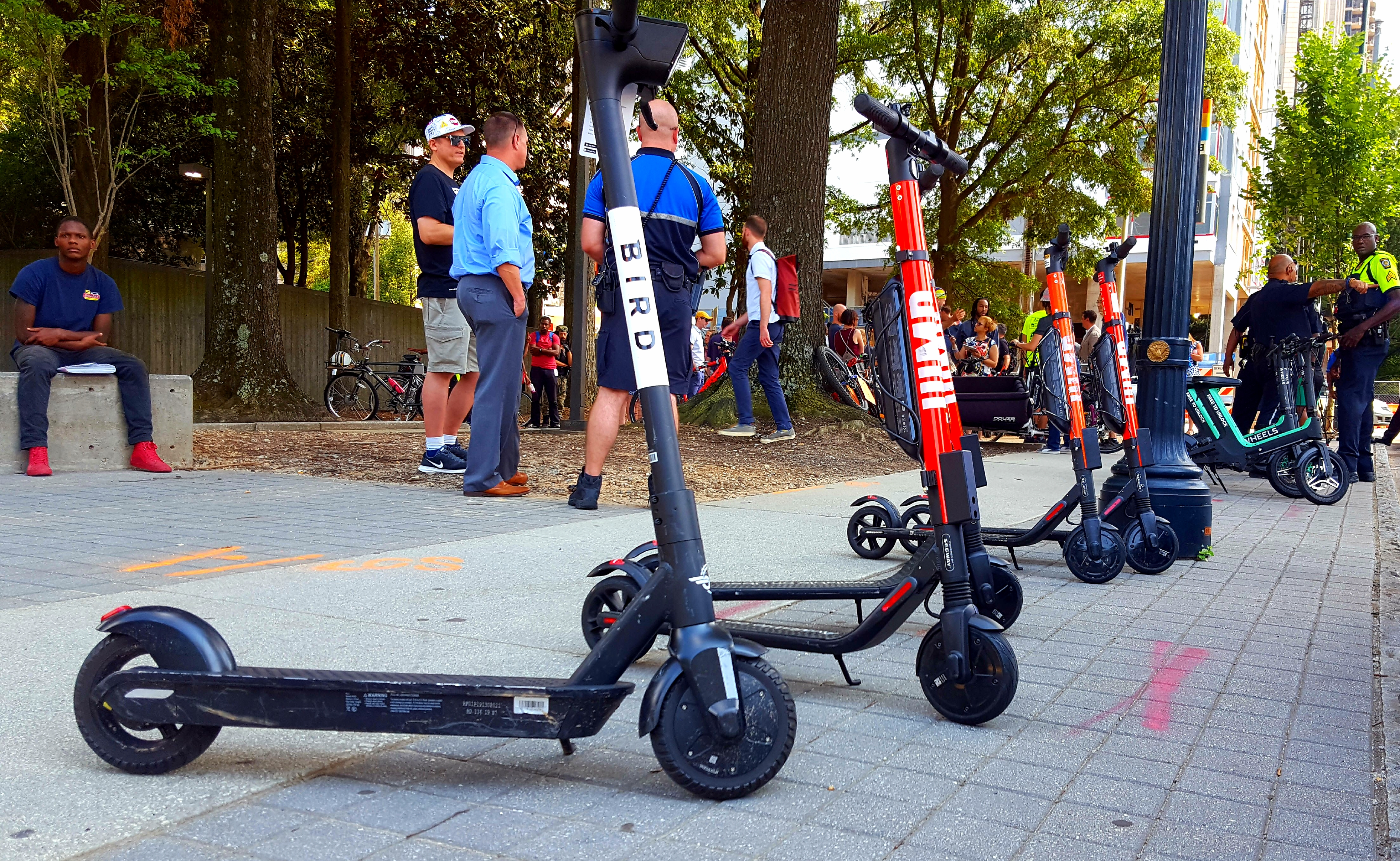 After fourth e-scooter death, Atlanta mayor imposes nighttime dockless vehicle ban