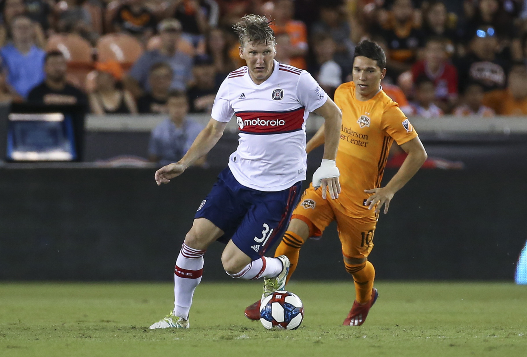 MLS: Chicago Fire at Houston Dynamo