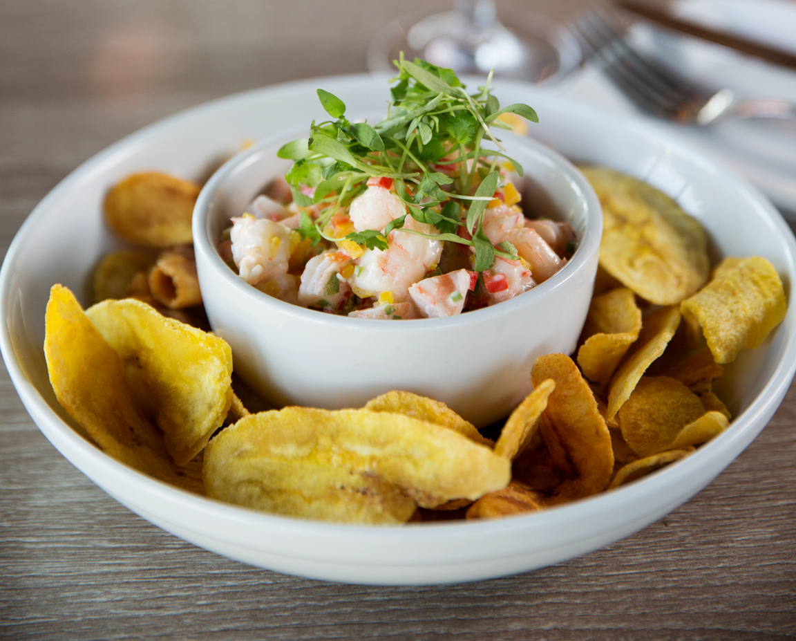Shrimp and gulf fish ceviche, a menu item at the upcoming Junior's on Harrison