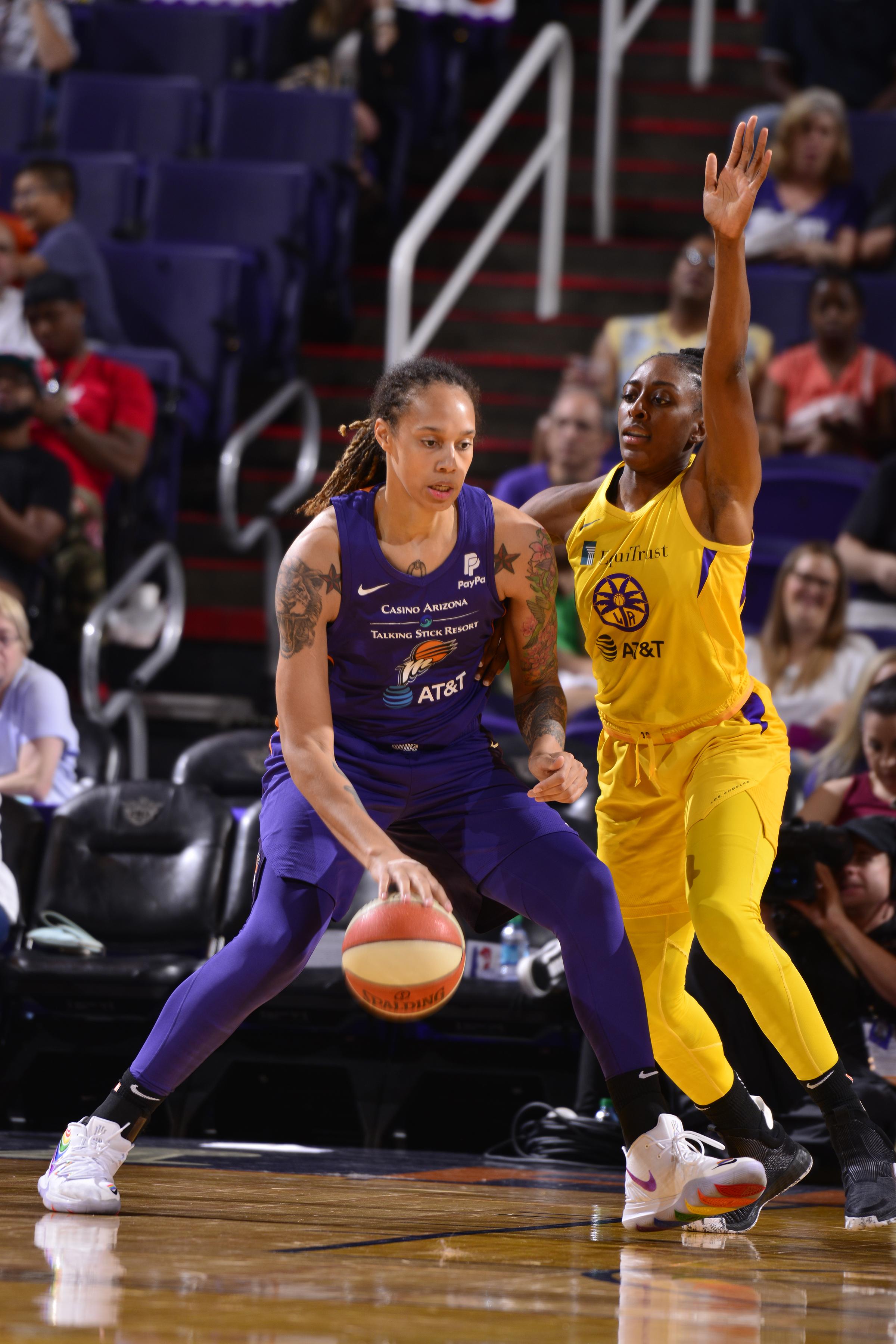 Los Angeles Sparks v Phoenix Mercury