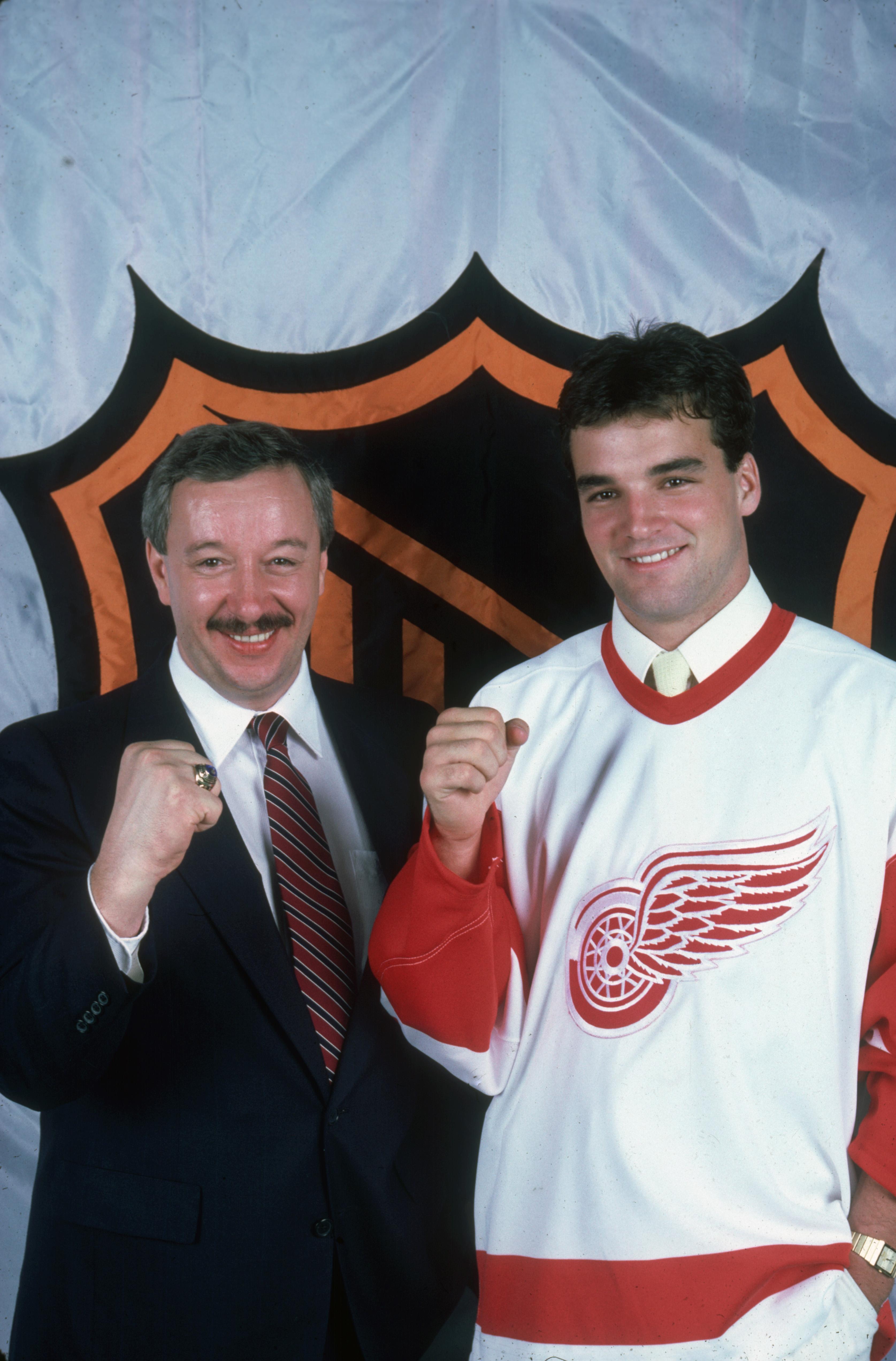 Joe Murphy, Red Wings #1 Draft Pick