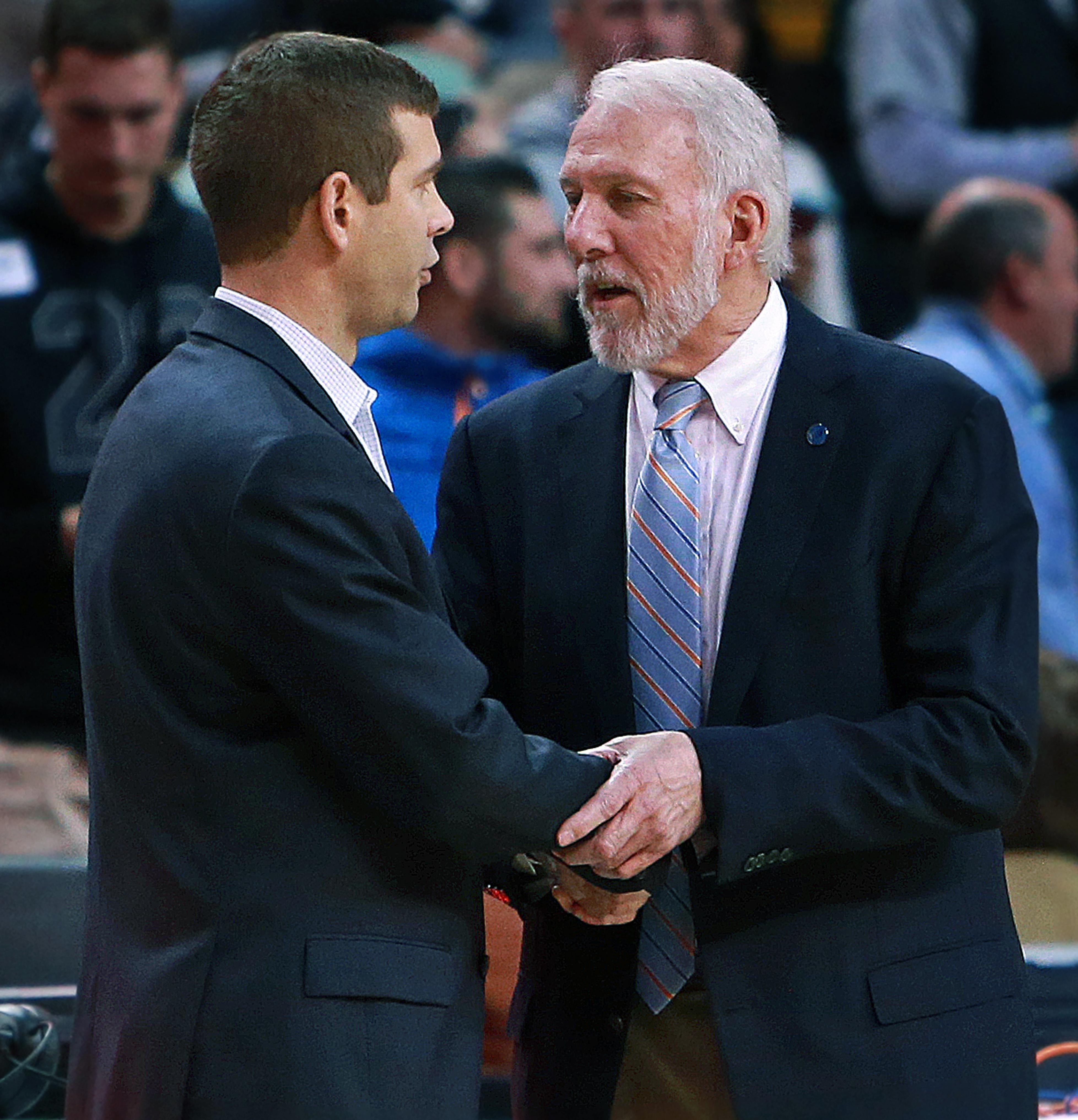 San Antonio Spurs Vs Boston Celtics At TD Garden