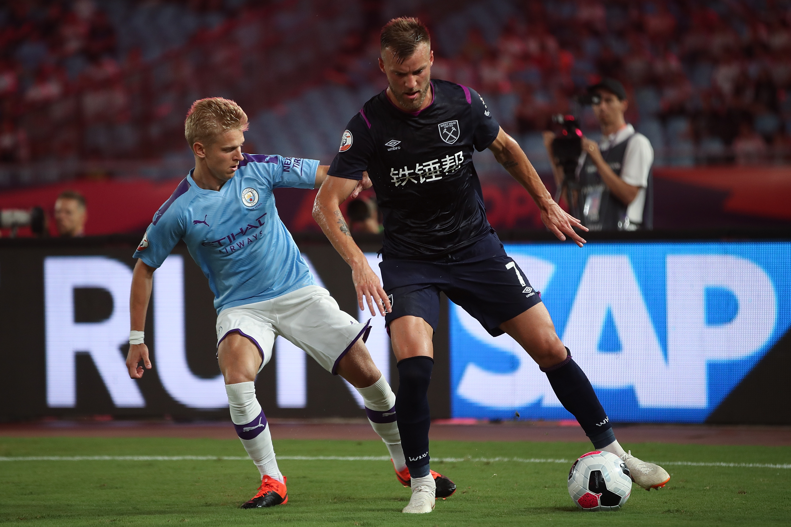 Premier League Asia Trophy - West Ham United v Manchester City