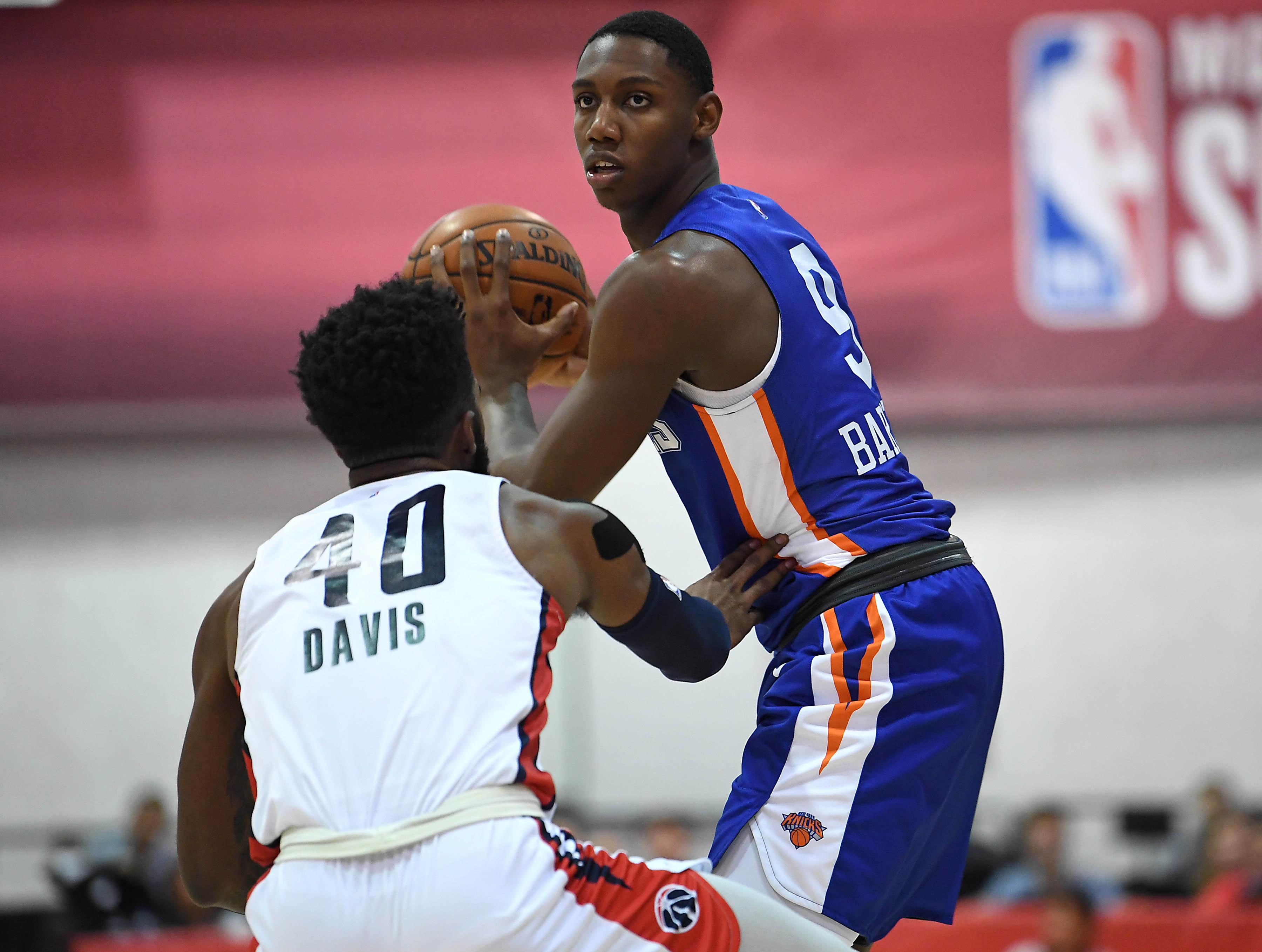 NBA: Summer League-New York Knicks at Washington Wizards