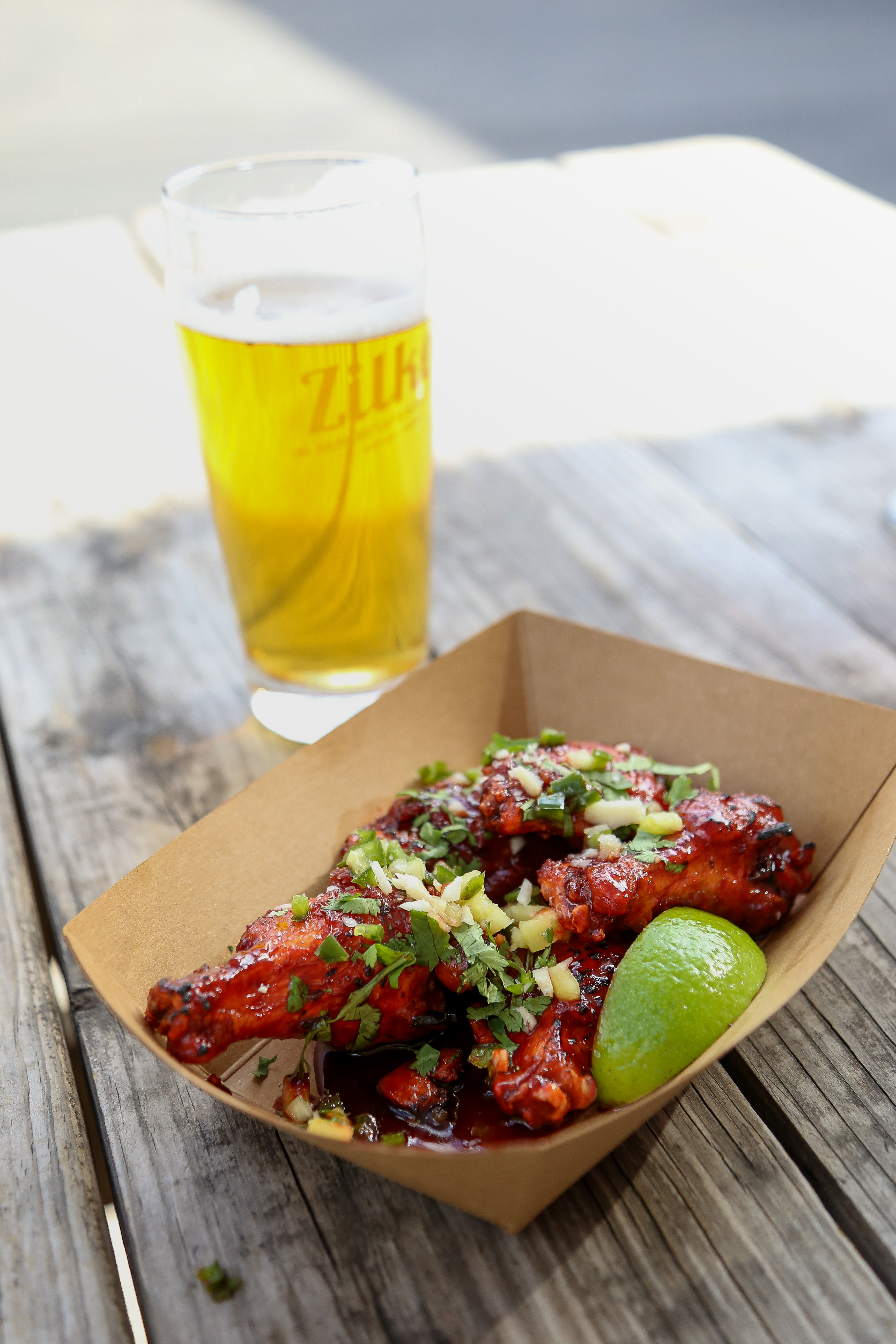 The CBD chicken wings from Spicy Boys