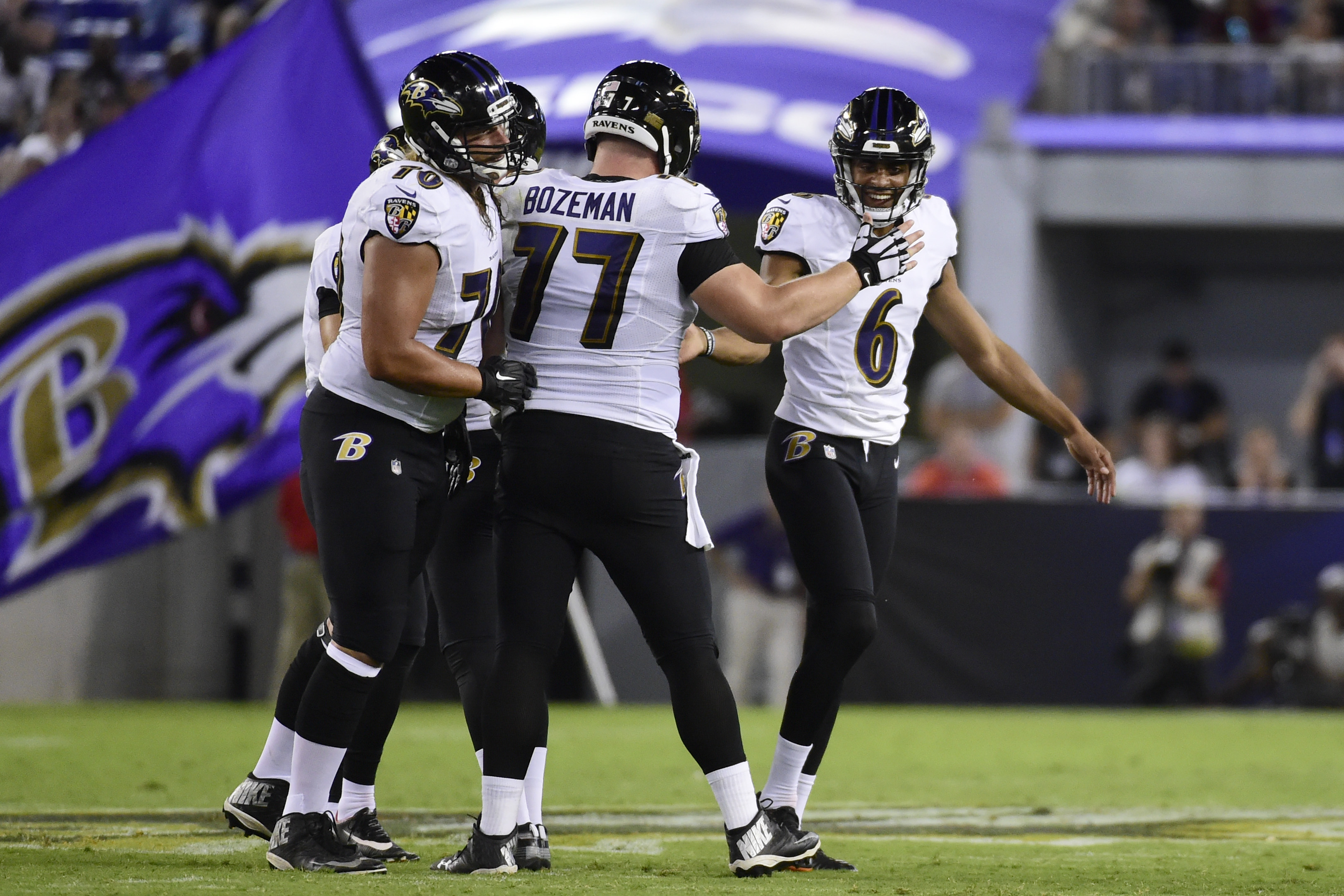 NFL: Washington Redskins at Baltimore Ravens