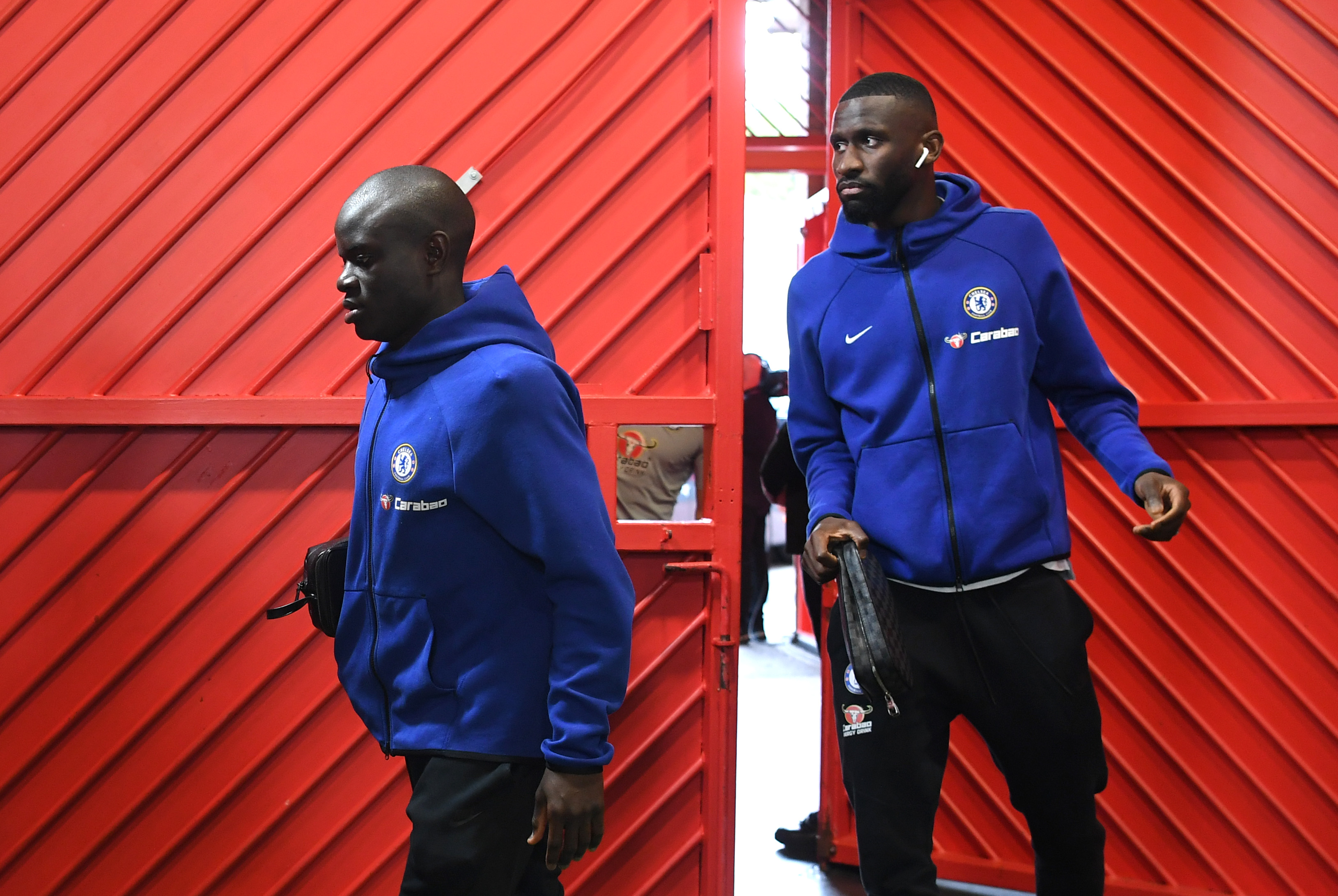 Kante facing late fitness test; Willian and Rudiger ruled out; Hudson-Odoi returns to training