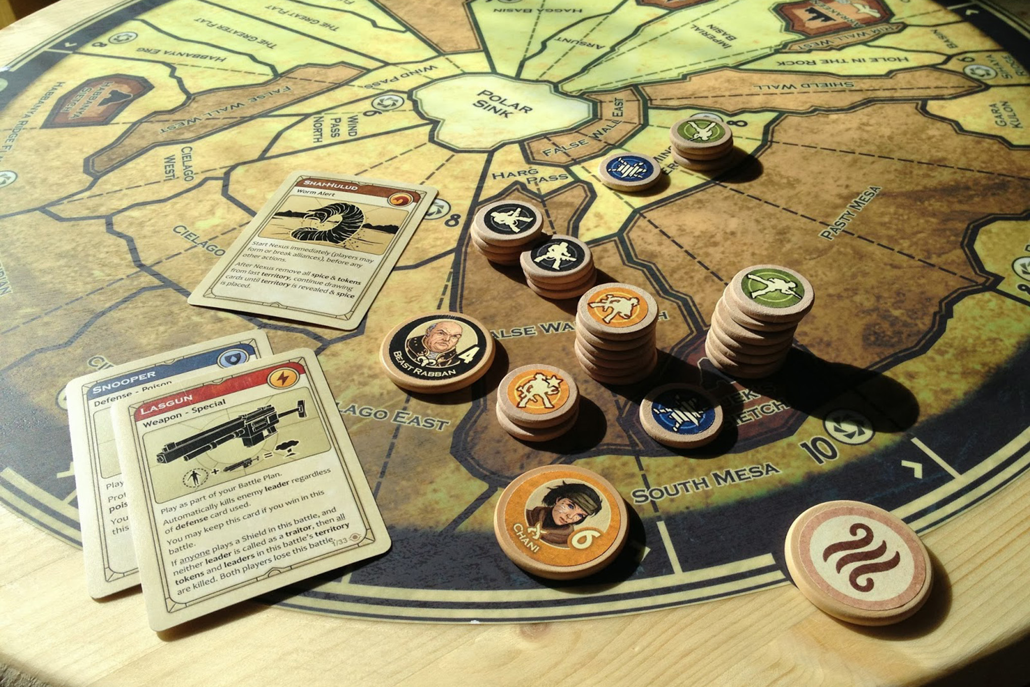 The mythical Dune board game, once lost to licensing hell, is coming back