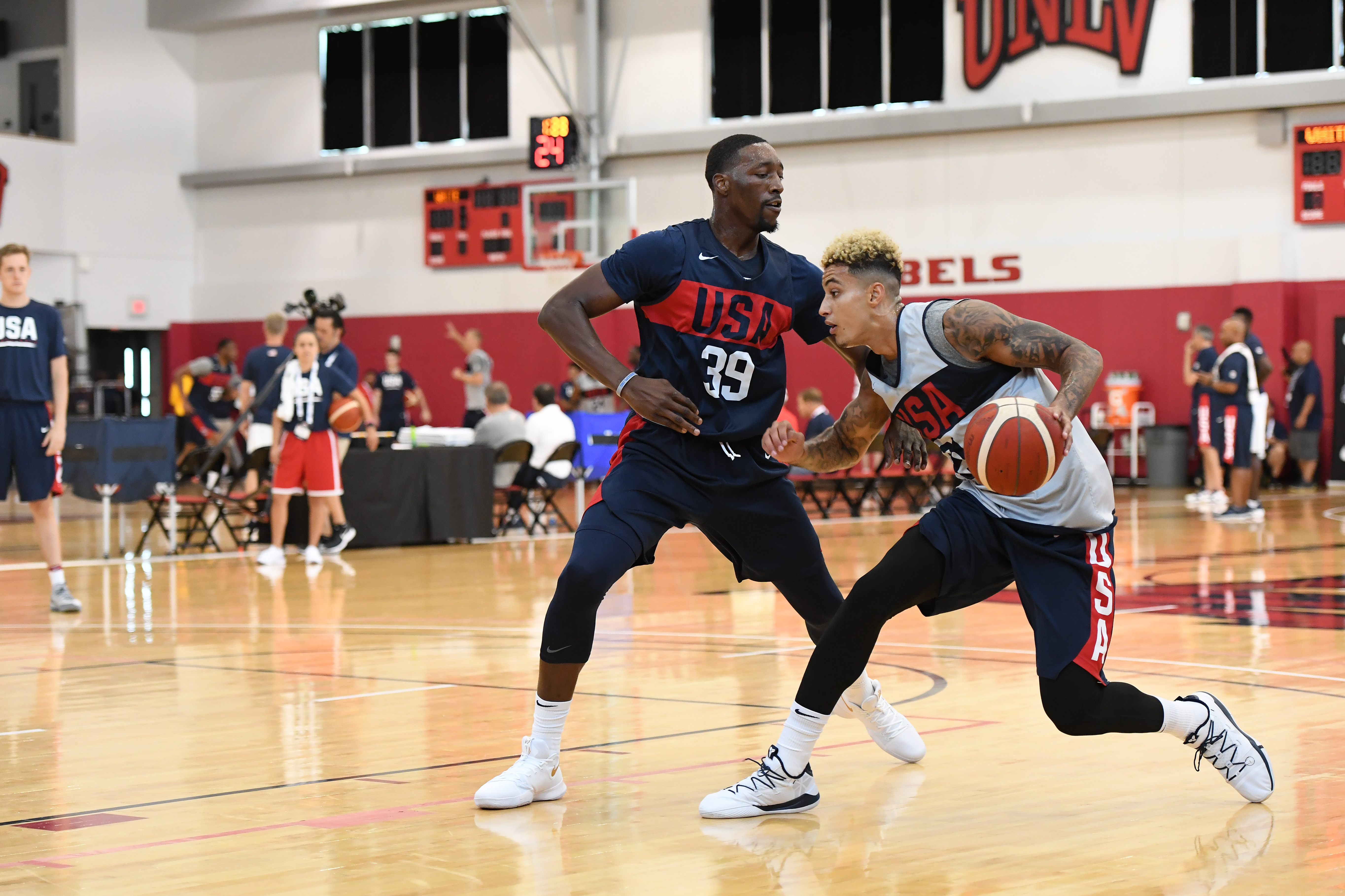 2019 USA Basketball Men's National Team Training Camp