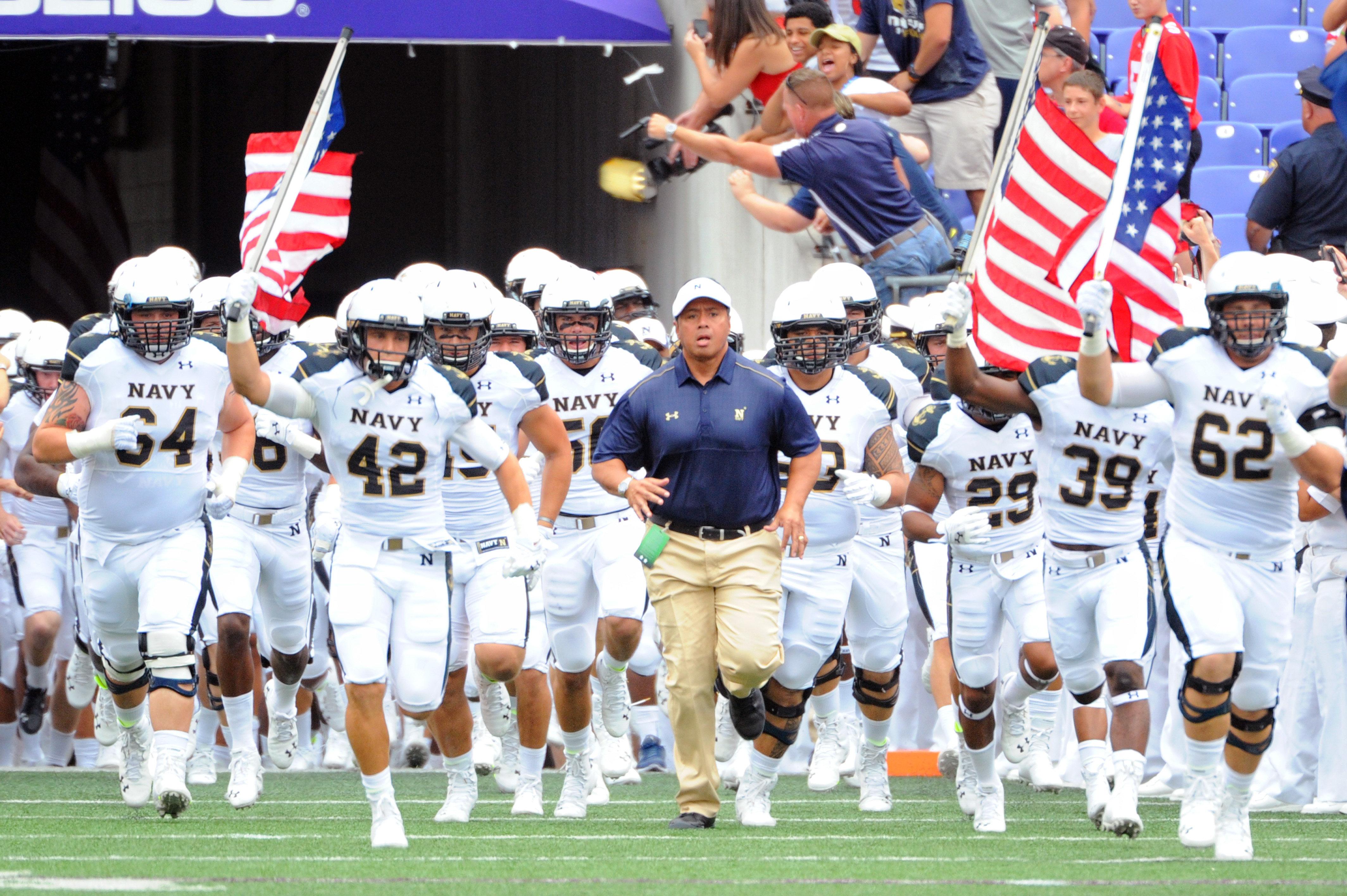 NCAA FOOTBALL: AUG 30 Ohio State at Navy