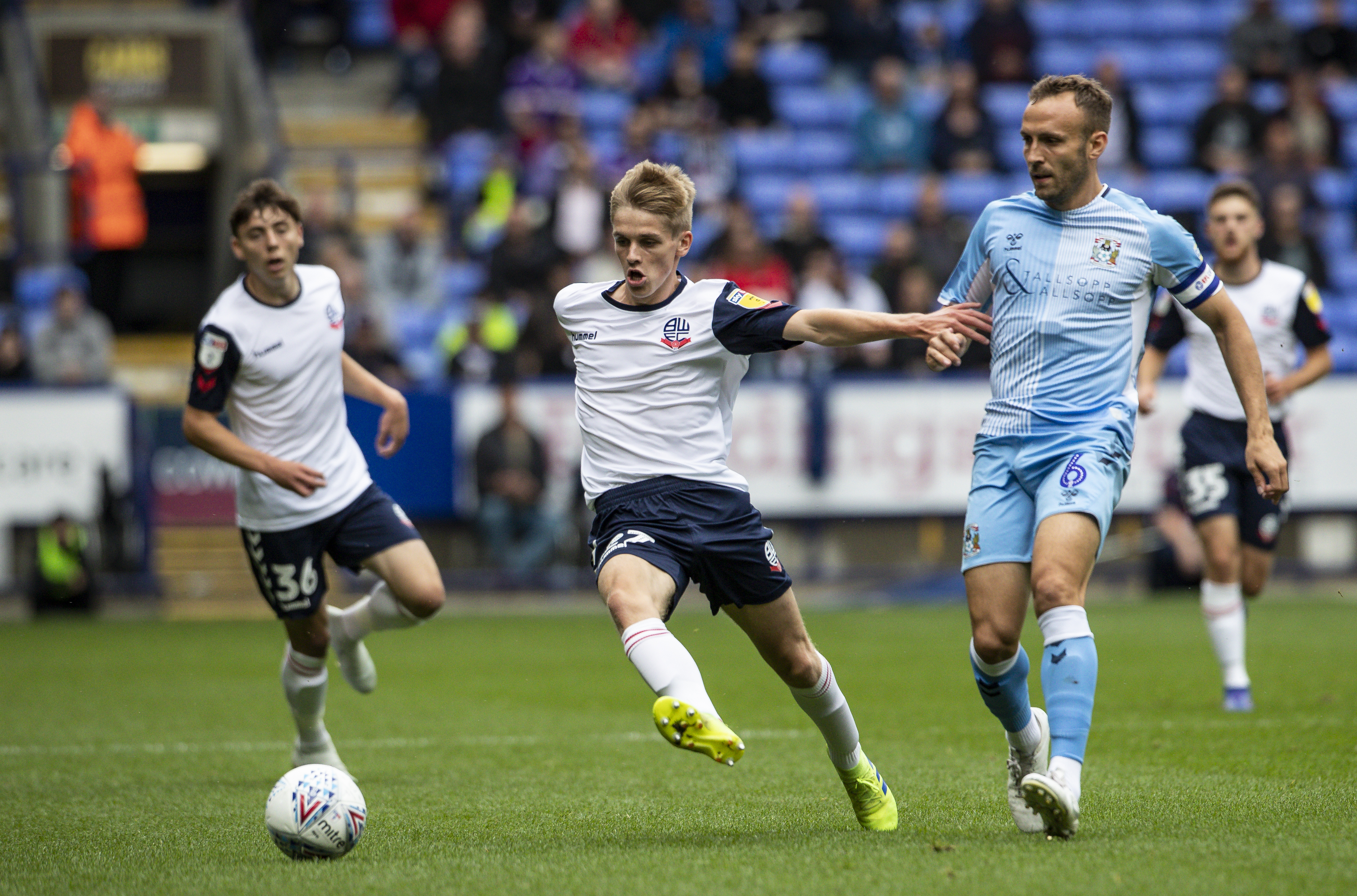 Bolton Wanderers v Coventry City - Sky Bet League One