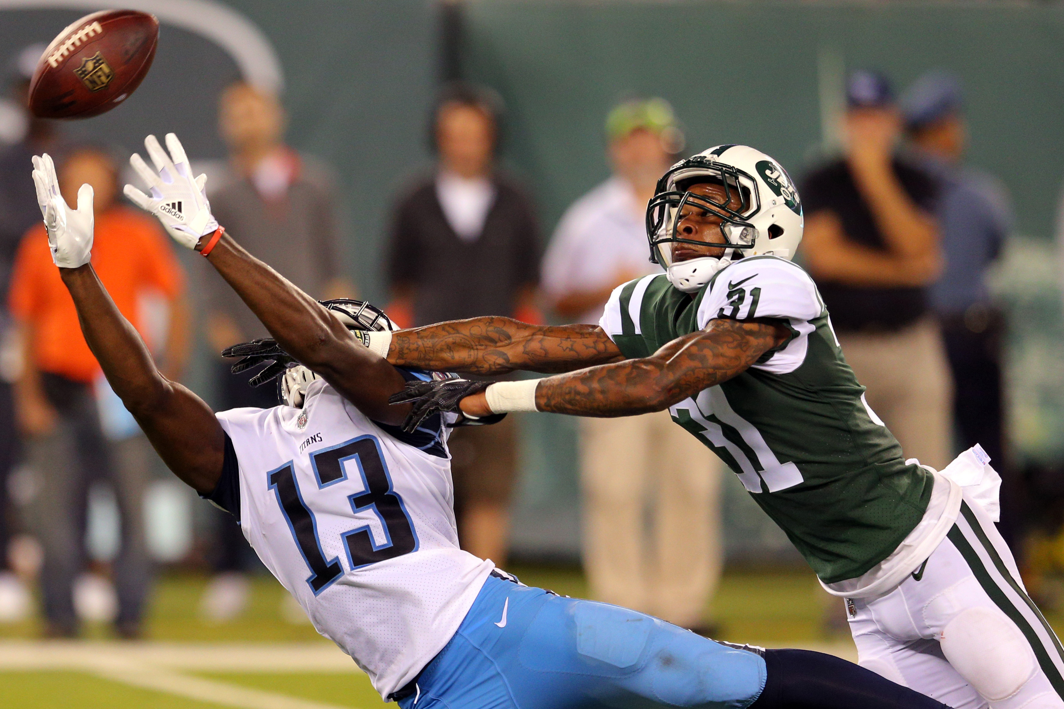 NFL: Tennessee Titans at New York Jets