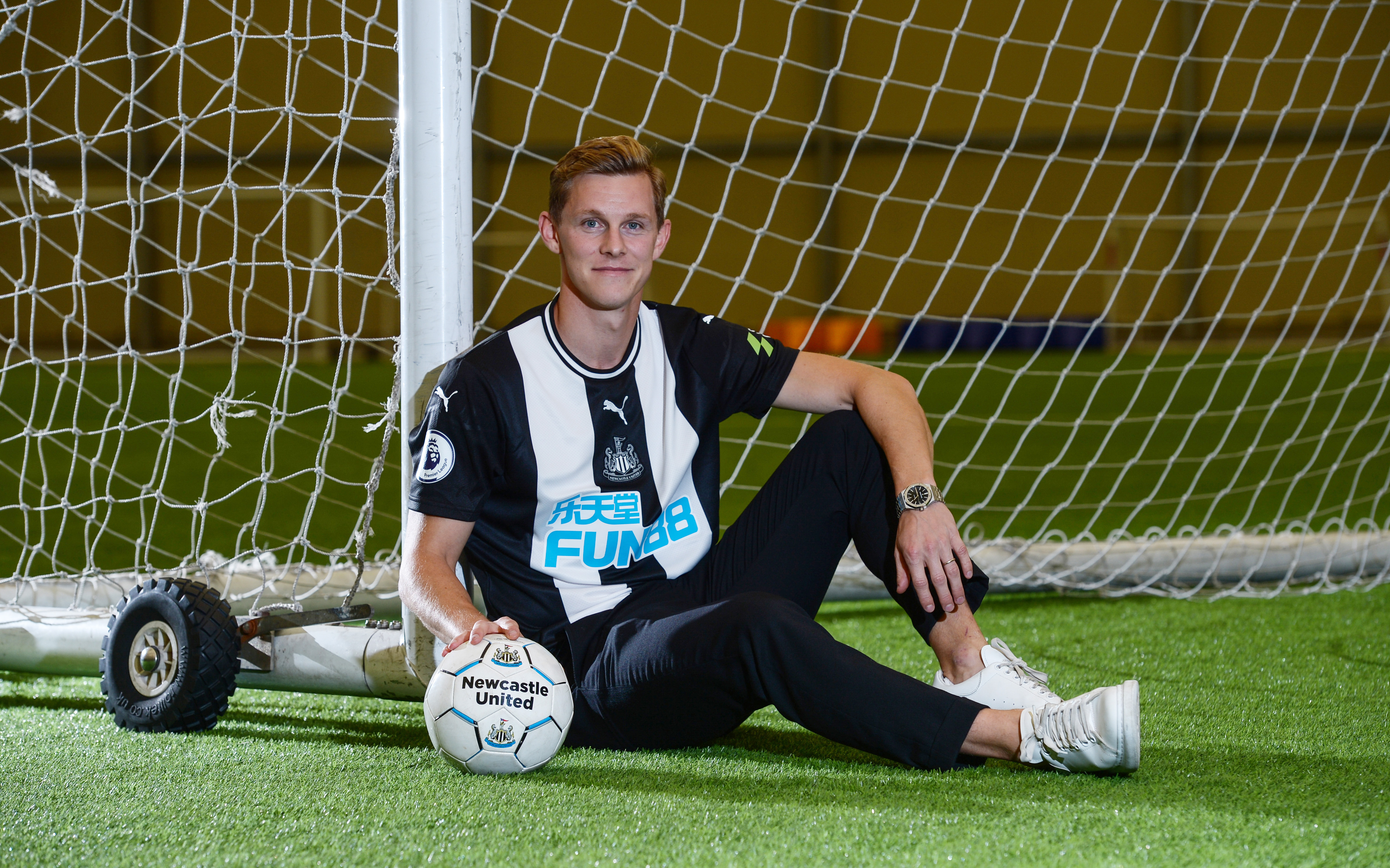 Newcastle United Unveil New Signing Emil Krafth