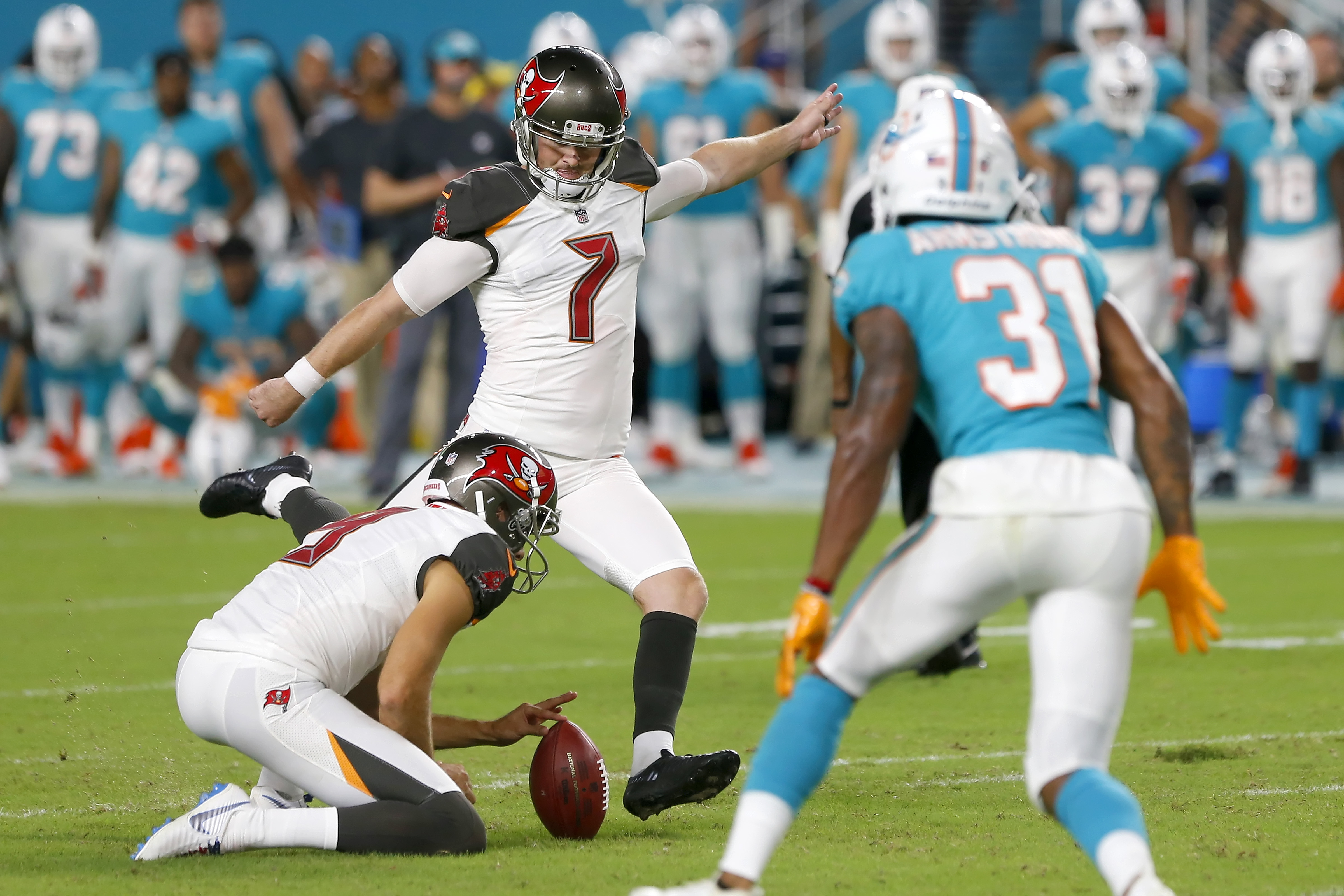 NFL: AUG 09 Preseason - Buccaneers at Dolphins