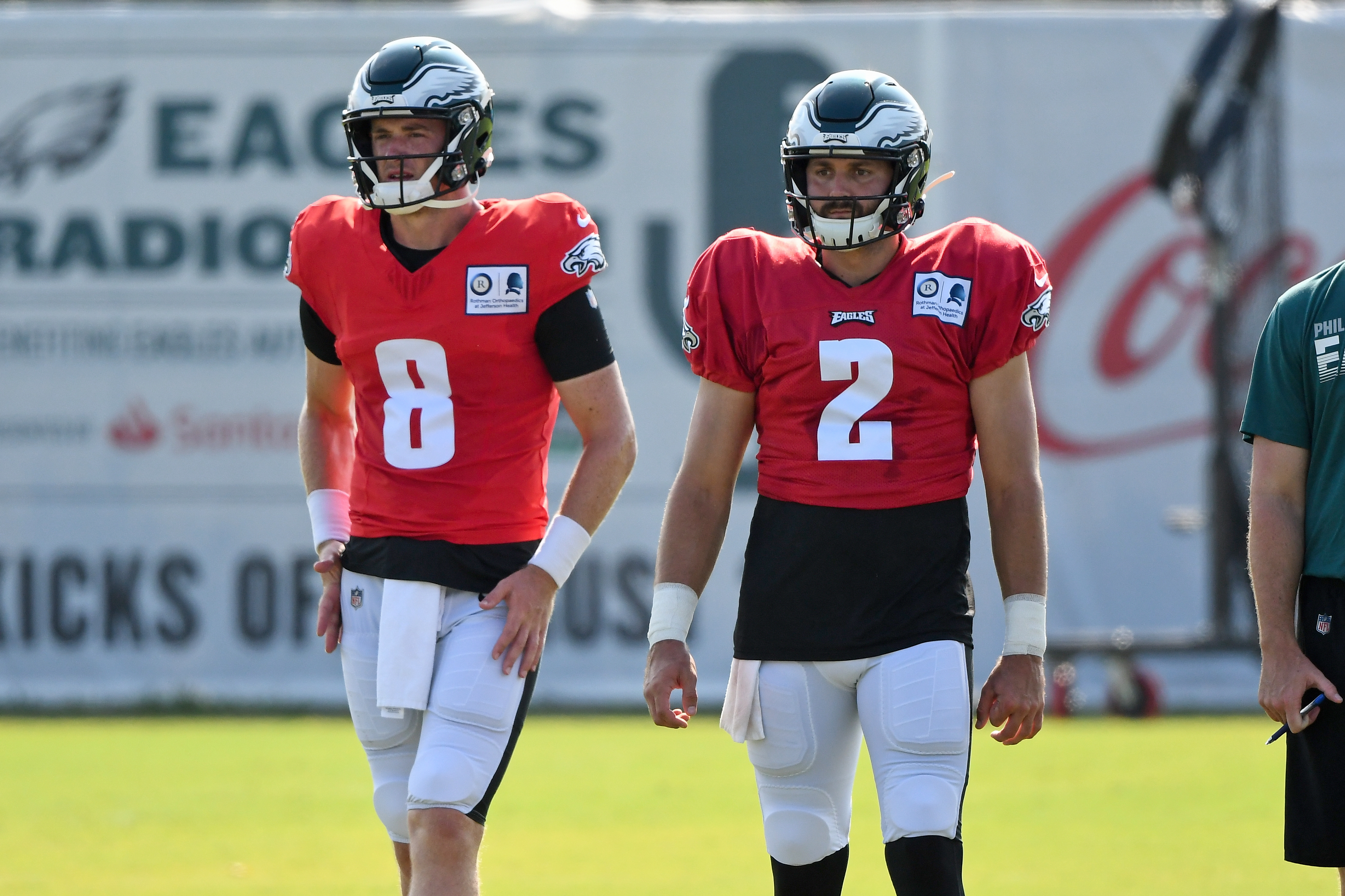 NFL: AUG 01 Eagles Training Camp