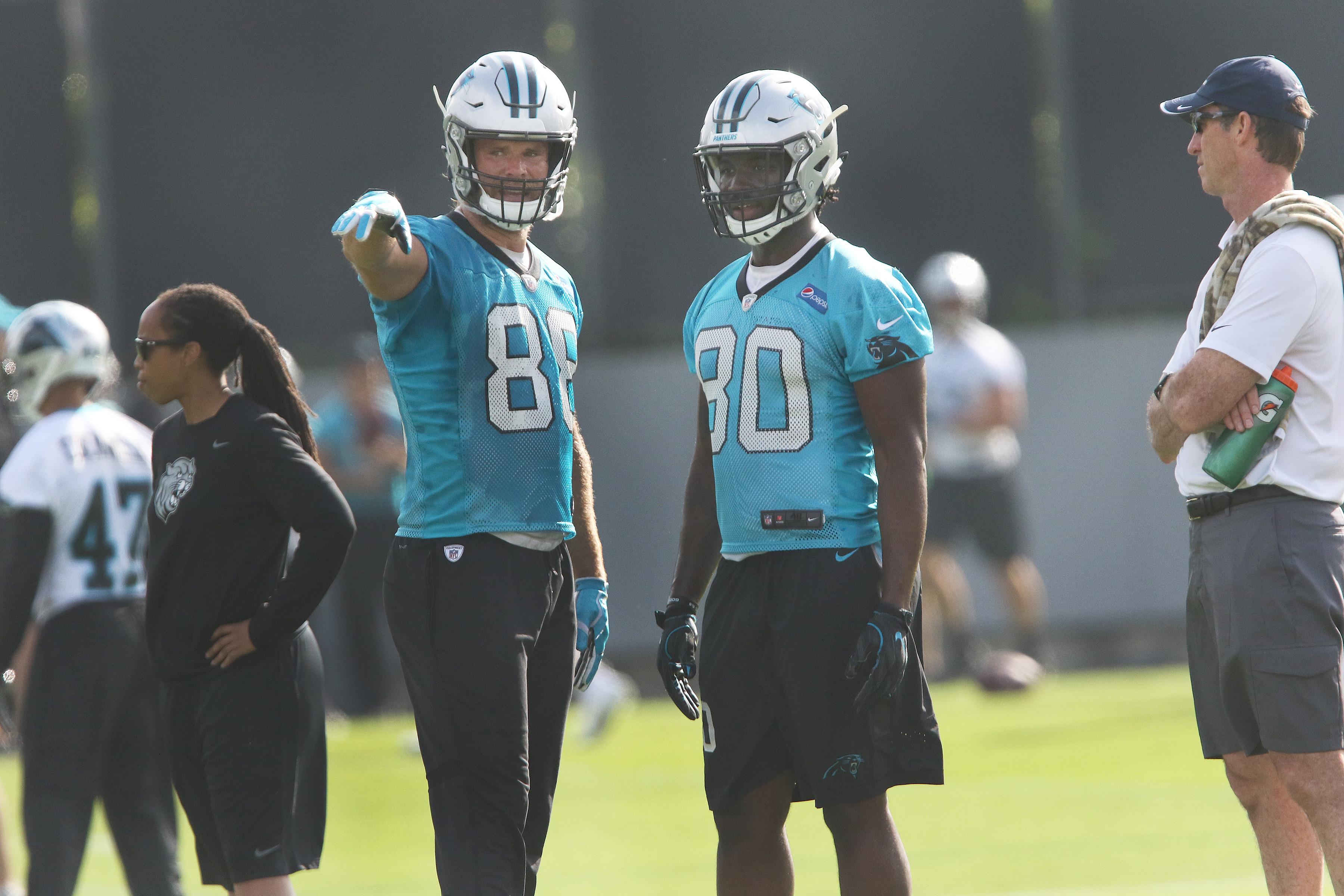 NFL: MAY 22 Panthers OTA