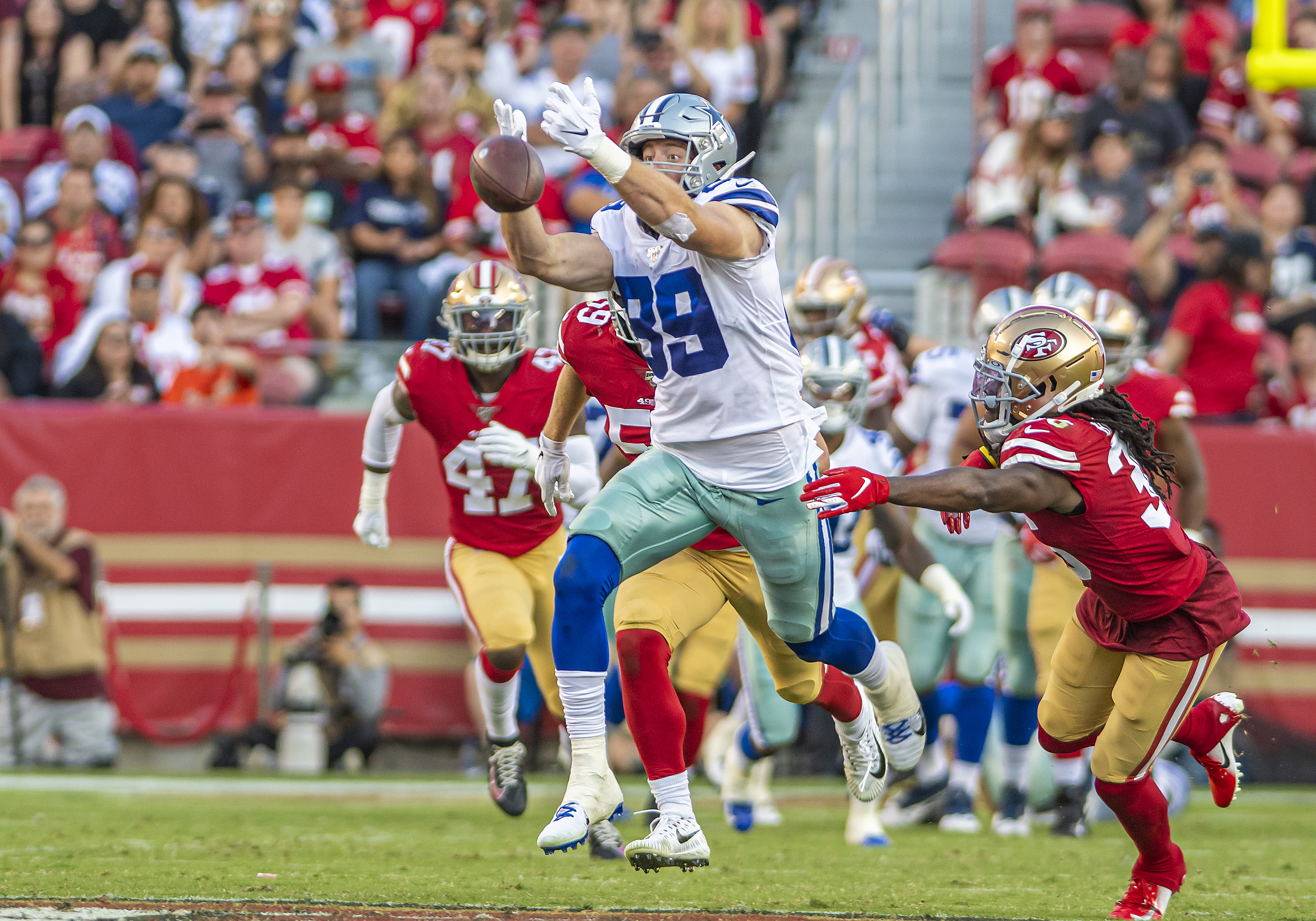 NFL: AUG 10 Preseason - Cowboys at 49ers