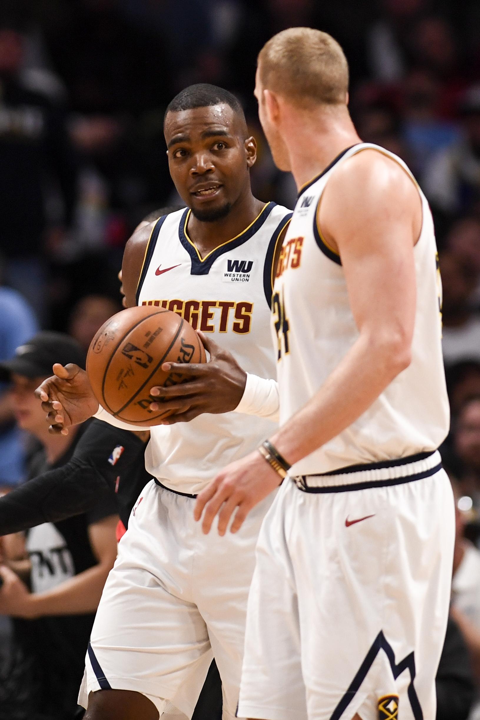 DENVER NUGGETS VS PORTLAND TRAILBLAZERS, NBA PLAYOFFS