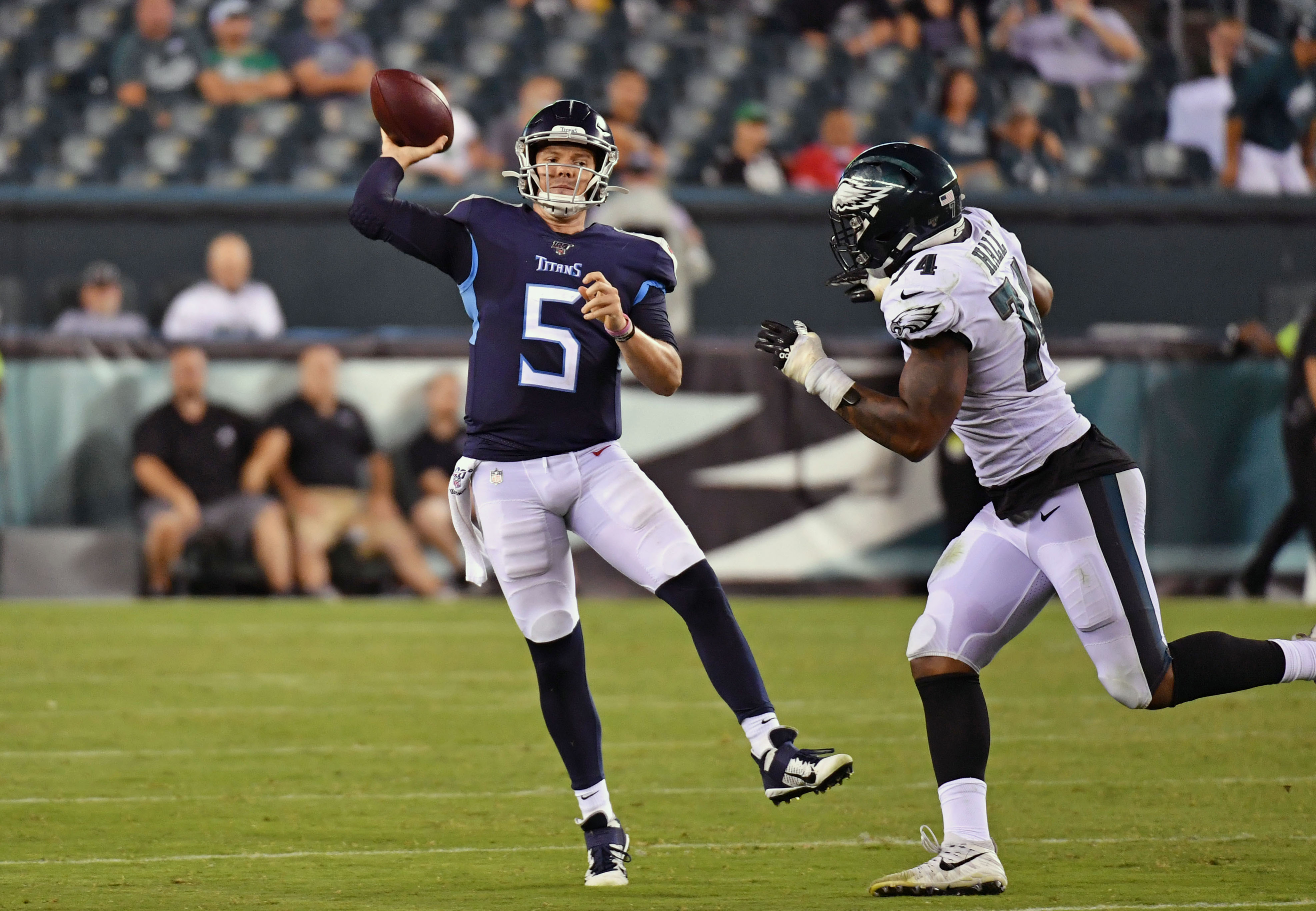 NFL: Preseason-Tennessee Titans at Philadelphia Eagles