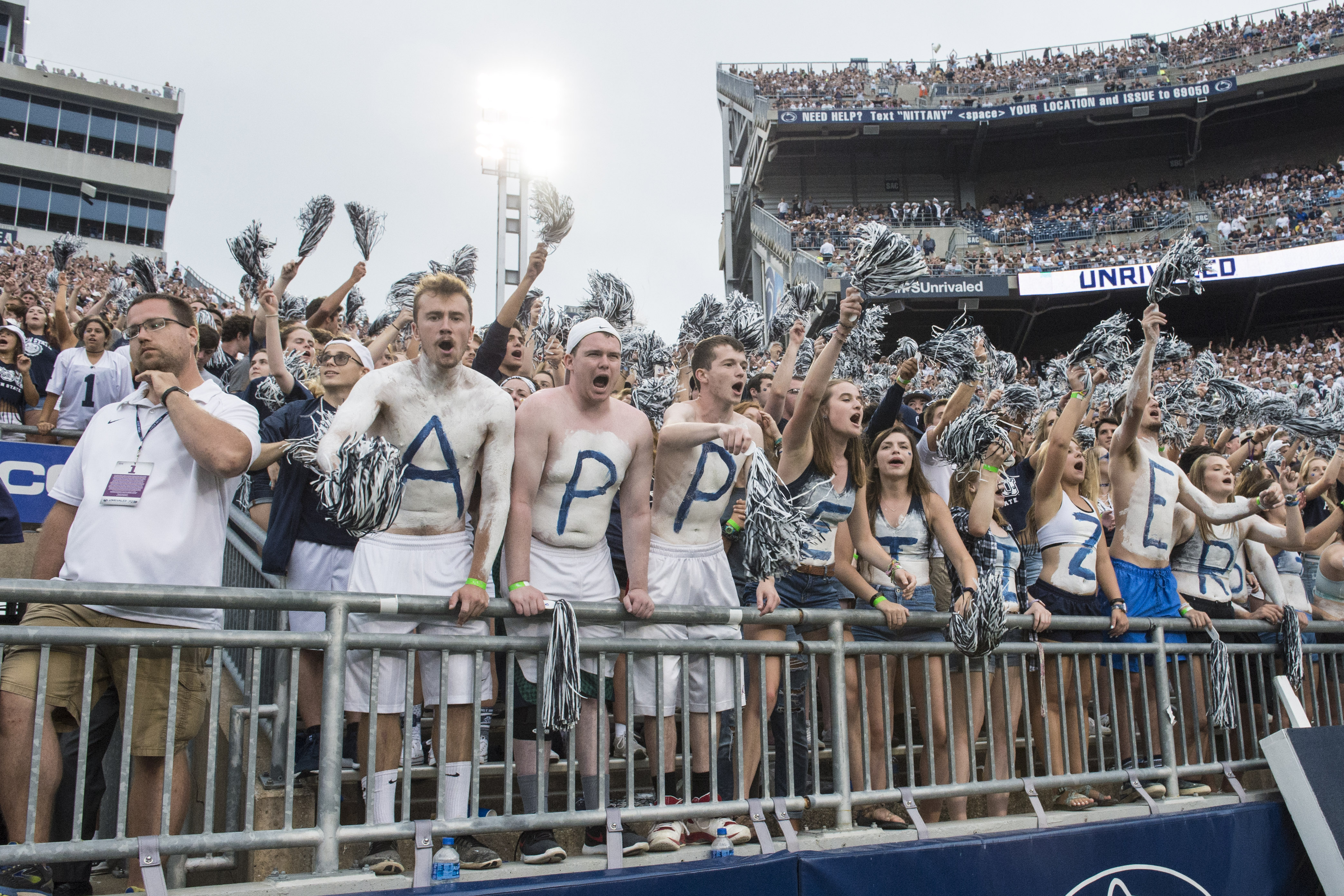 COLLEGE FOOTBALL: SEP 01 Appalachian State at Penn State