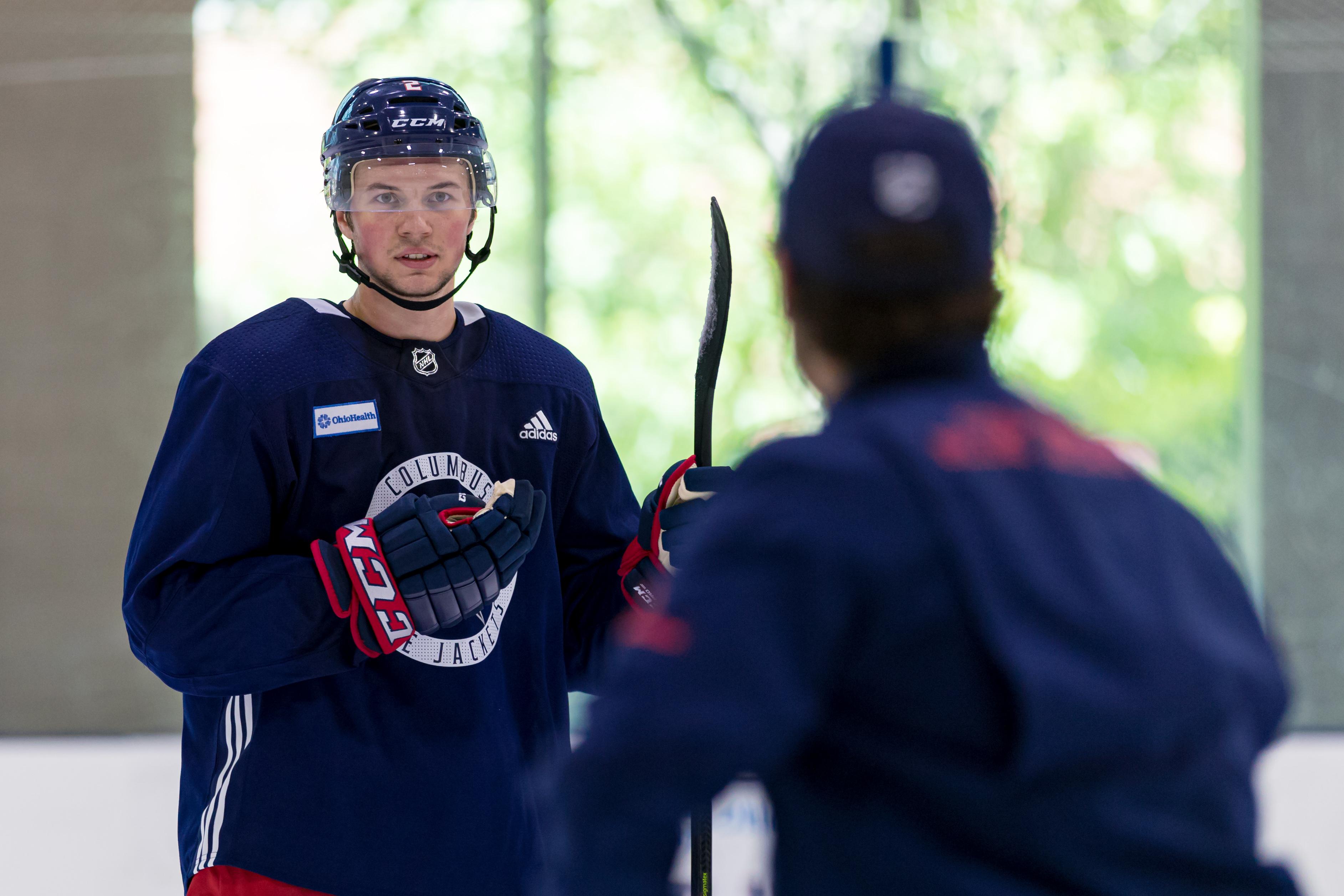 NHL: JUN 26 Columbus Blue Jackets Development Camp