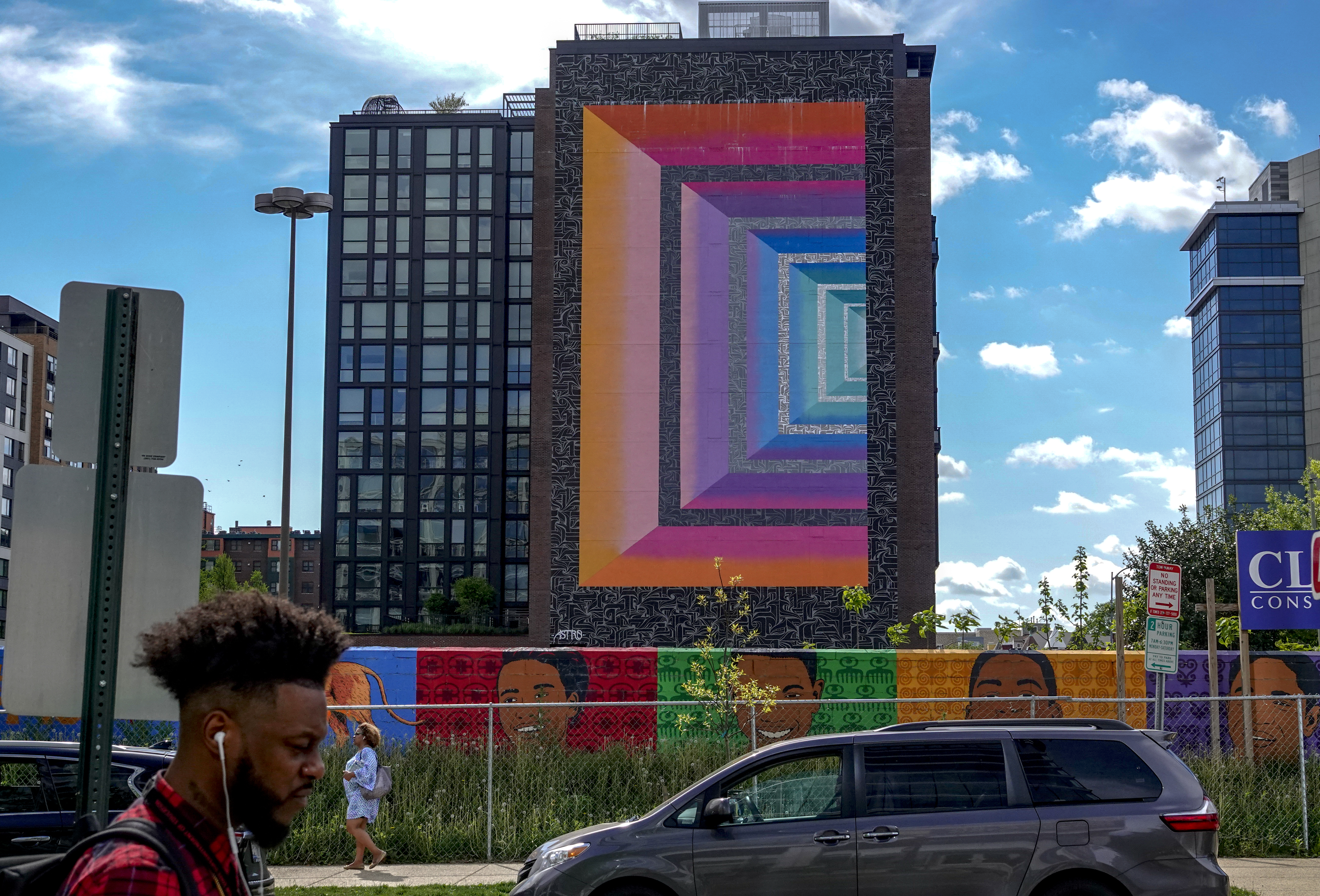 Half a dozen new murals are slated for walls across D.C.