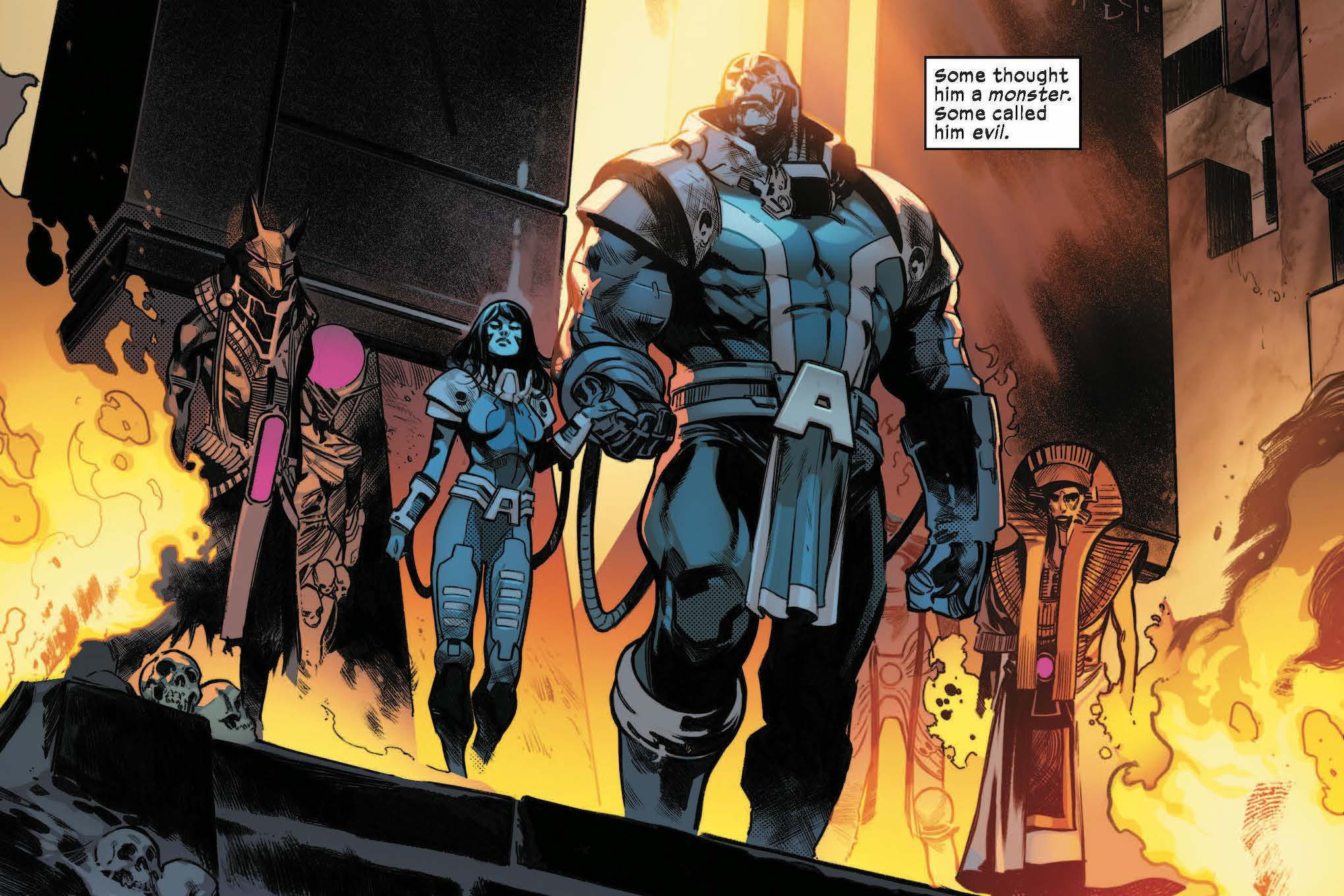 A sentient baby changed everything we know about the X-Men