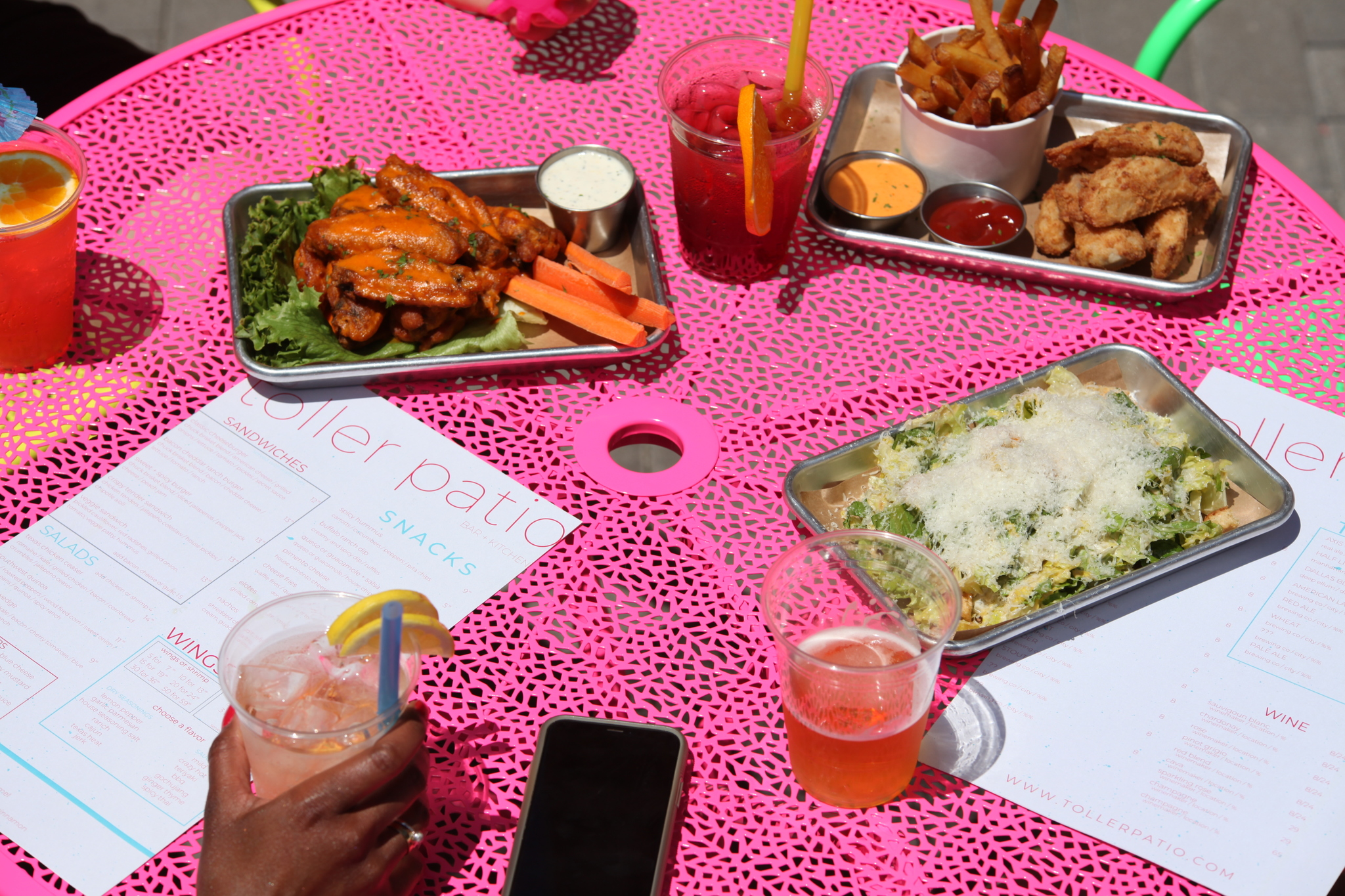 Check Out Toller Patio, a Colorful New Outdoor Drinking Destination in East Dallas
