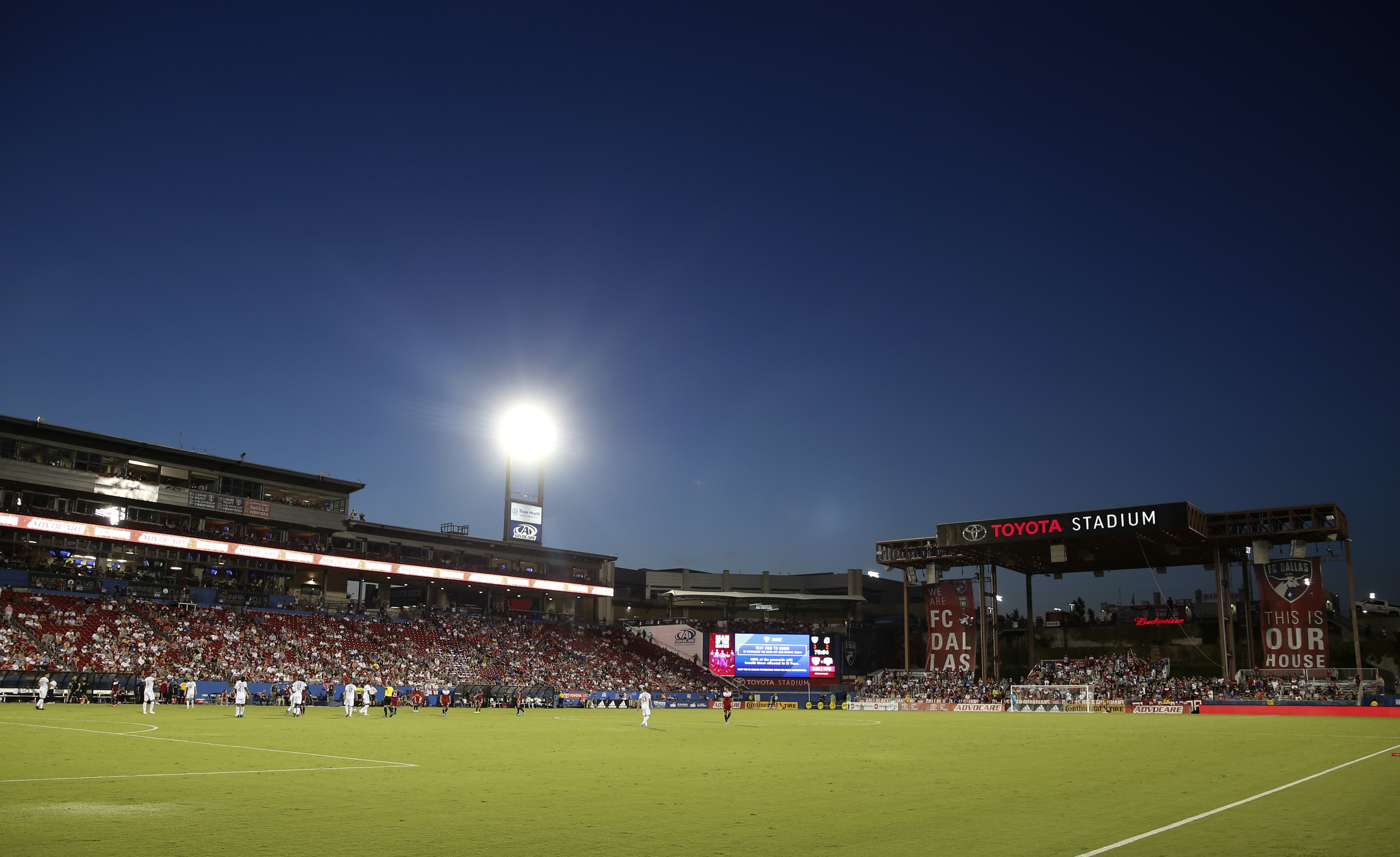 East Stand View: Hottest Game of the Year! - Big D Soccer