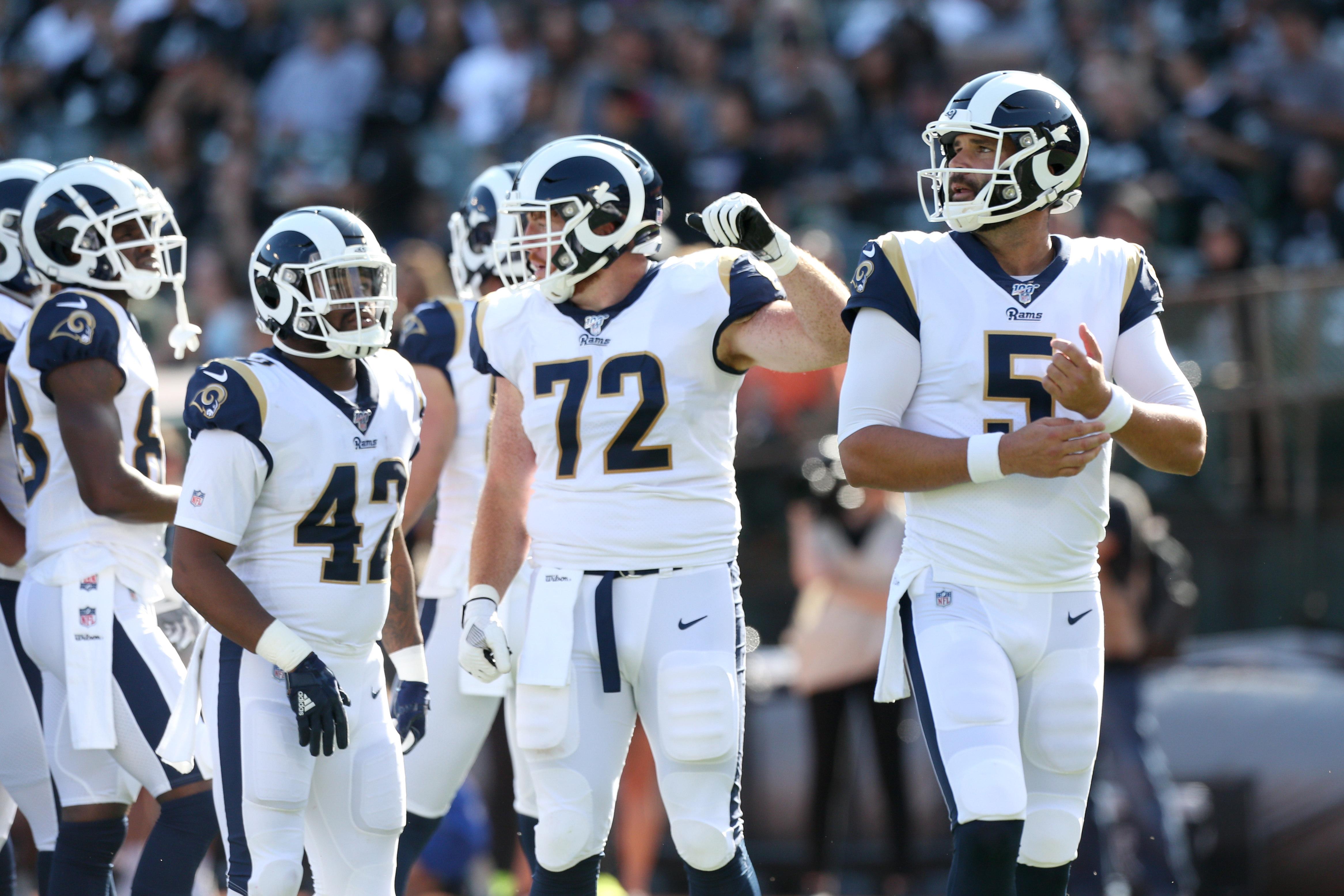 NFL: Preseason-Los Angeles Rams at Oakland Raiders