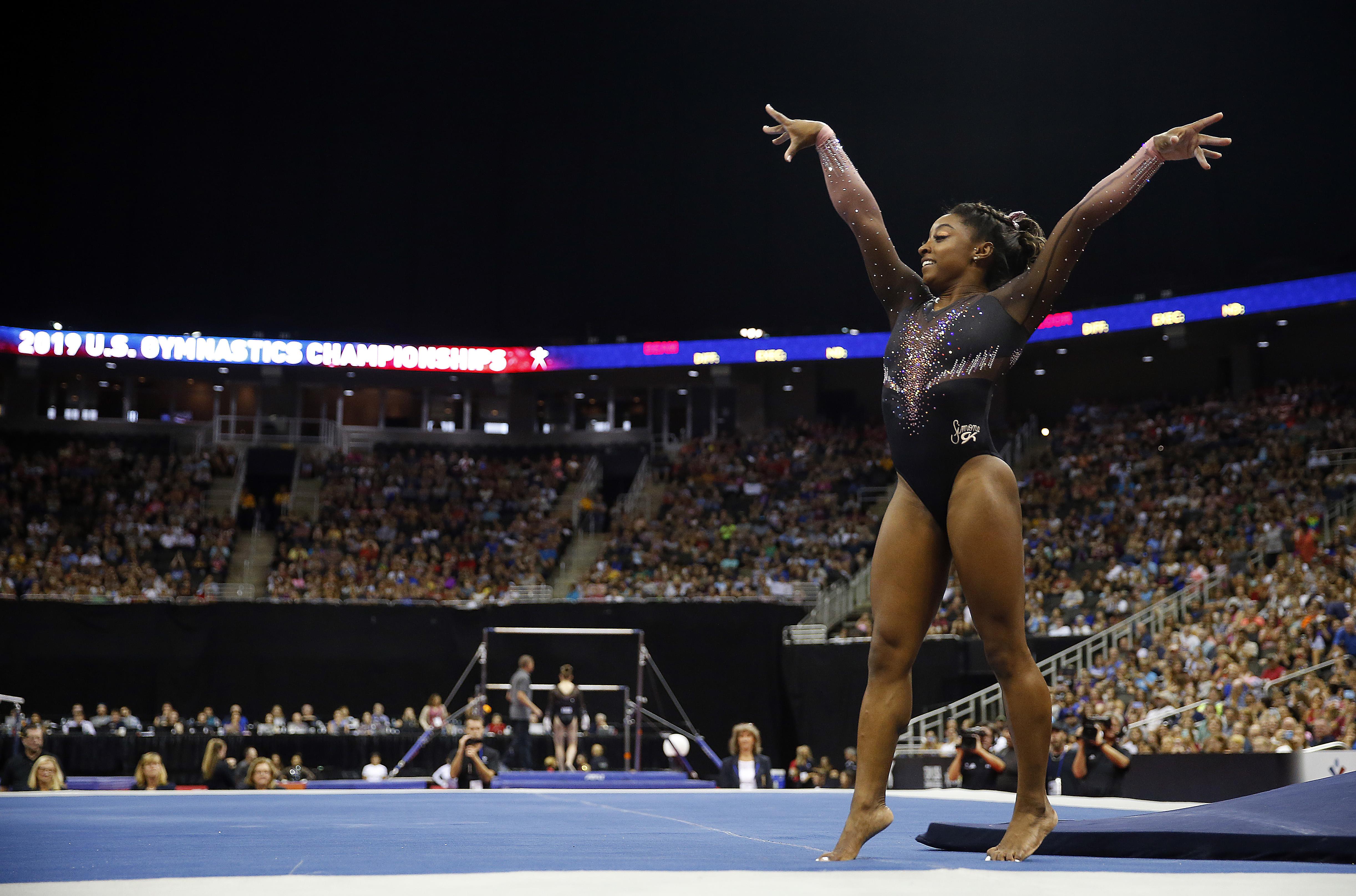 Simone Biles keeps raising the bar in a sport that failed her