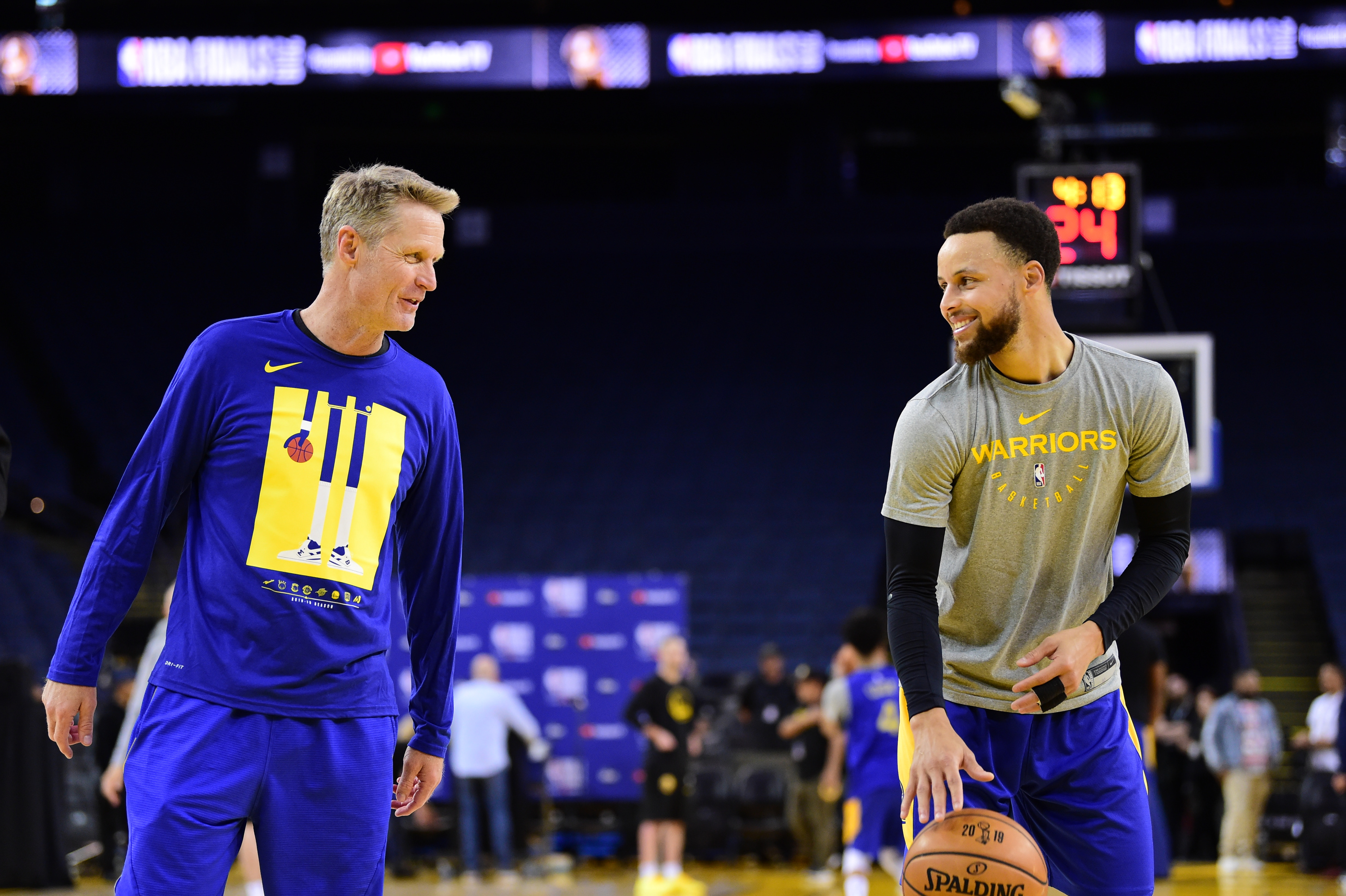 2019 NBA Finals - Practice and Media Availability