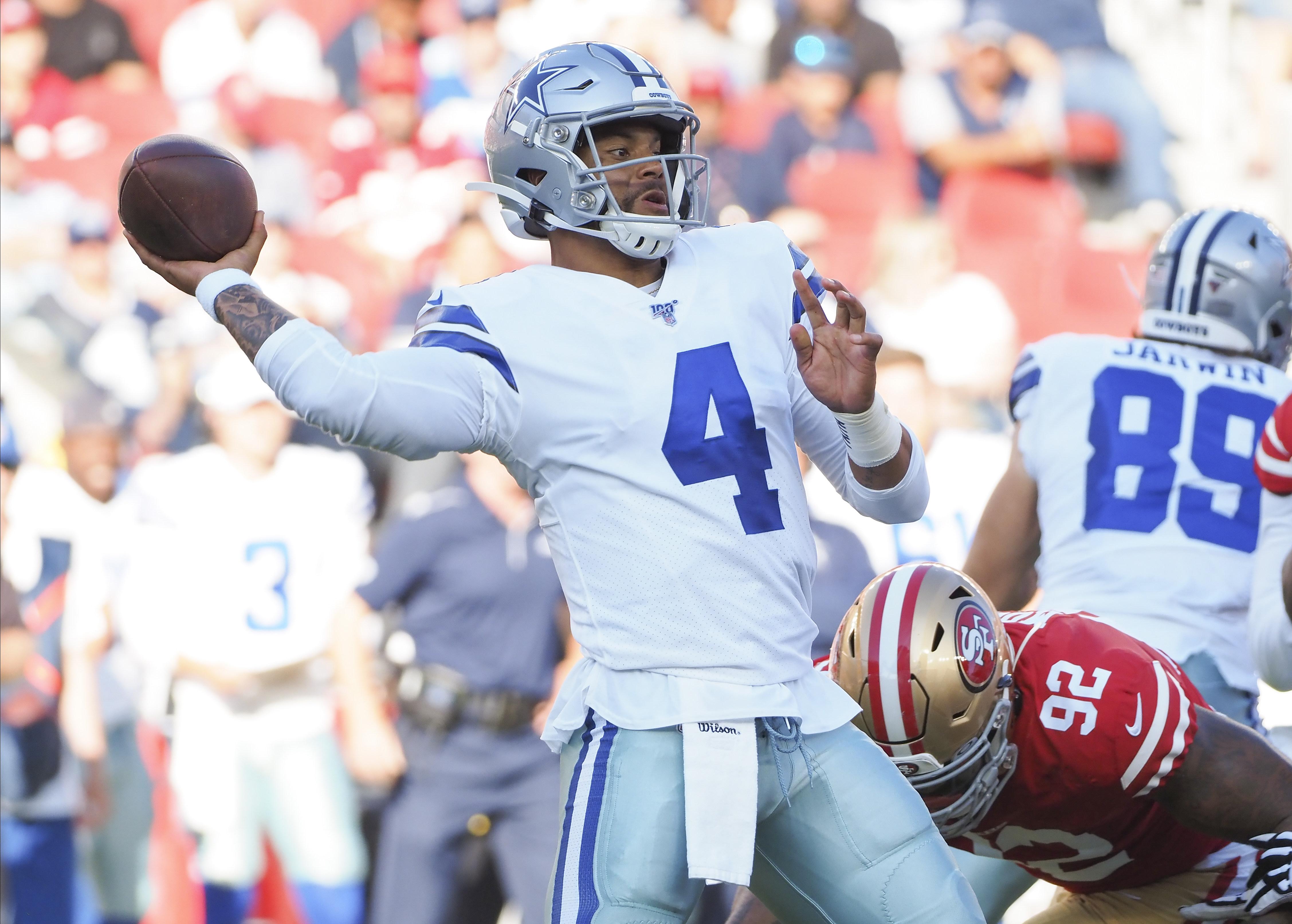 NFL: Preseason-Dallas Cowboys at San Francisco 49ers