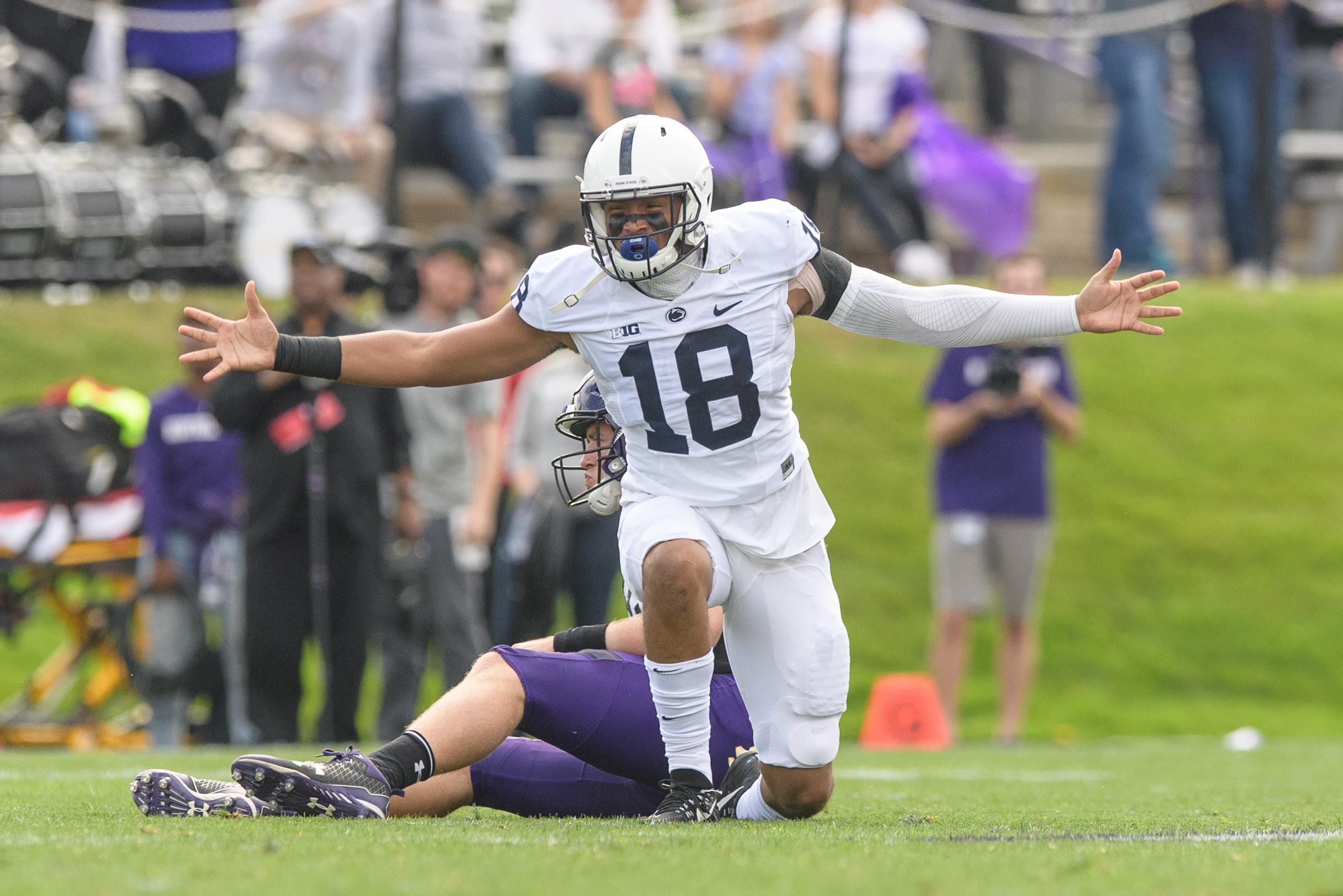 COLLEGE FOOTBALL: OCT 07 Penn State at Northwestern