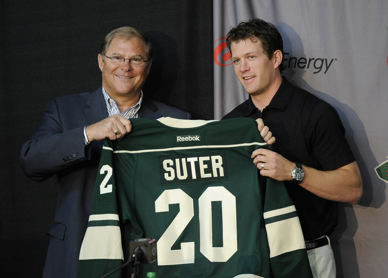 Minnesota Wild Introduce Zach Parise and Ryan Suter - Press Conference
