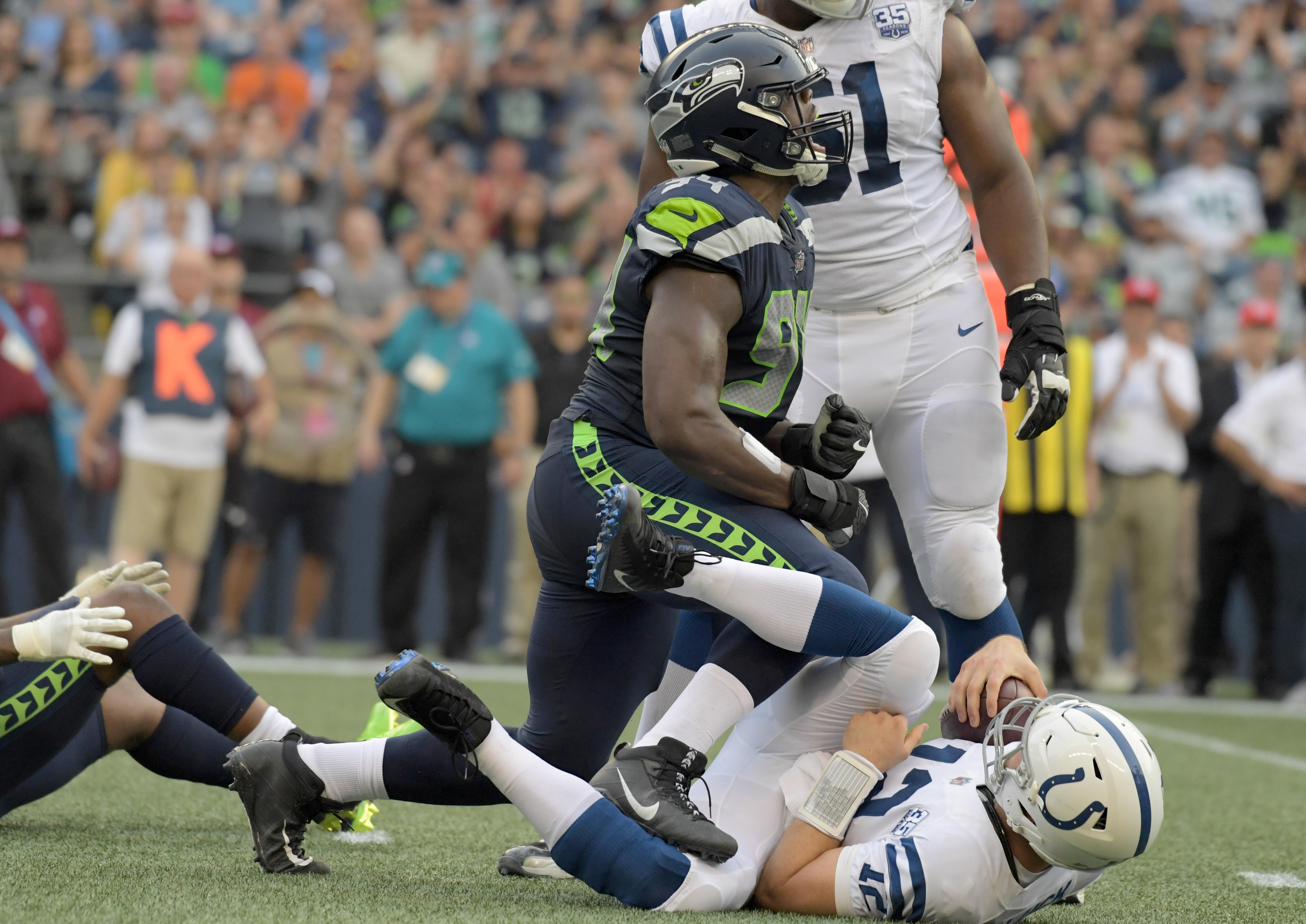 NFL: Indianapolis Colts at Seattle Seahawks