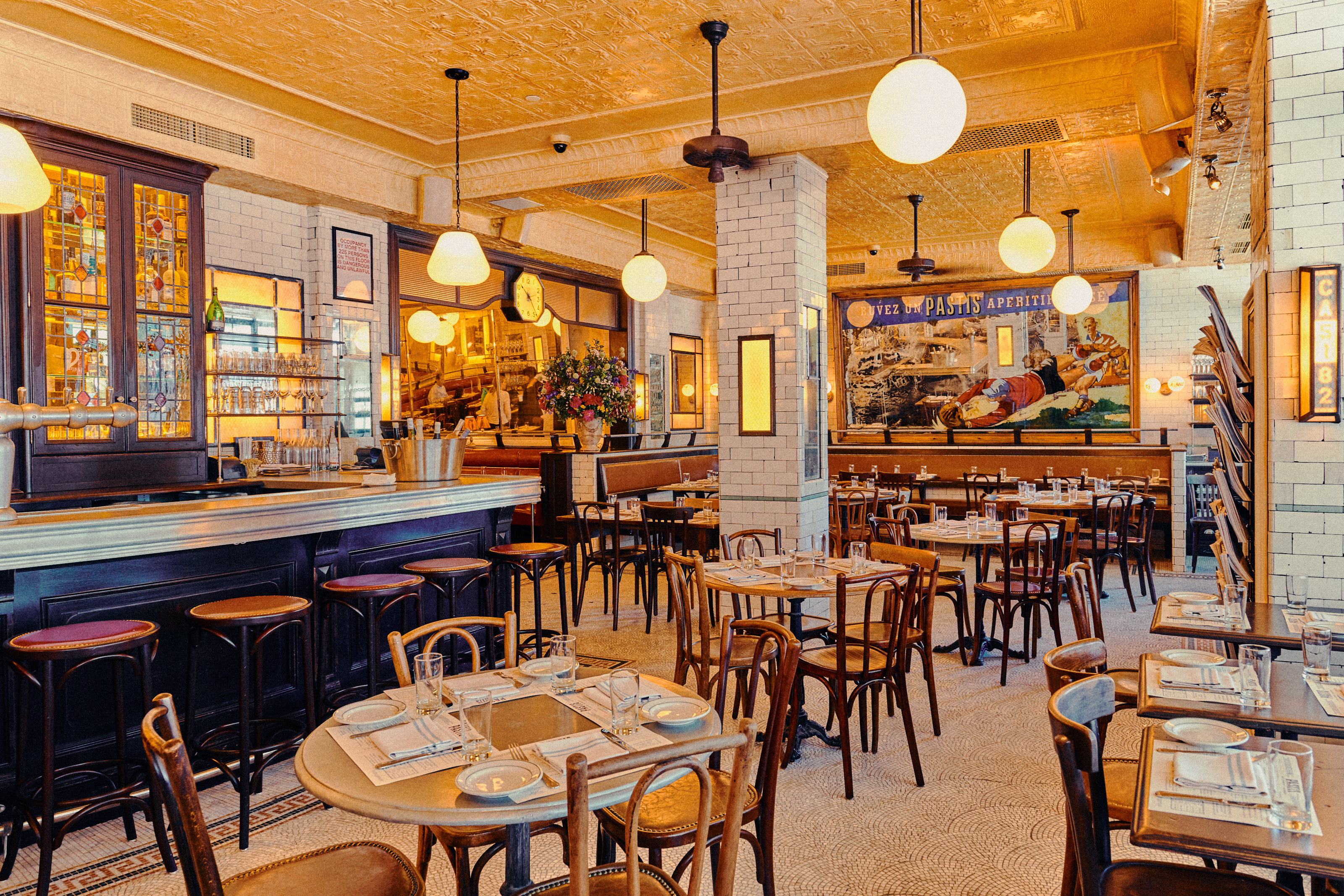The Food at the New Pastis 'Is Better' Than the Original, Wells Says