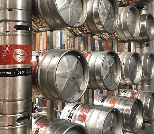 An Entire Wall of Kegs Brings Tons of Beer to a Massive New North Dallas Bar