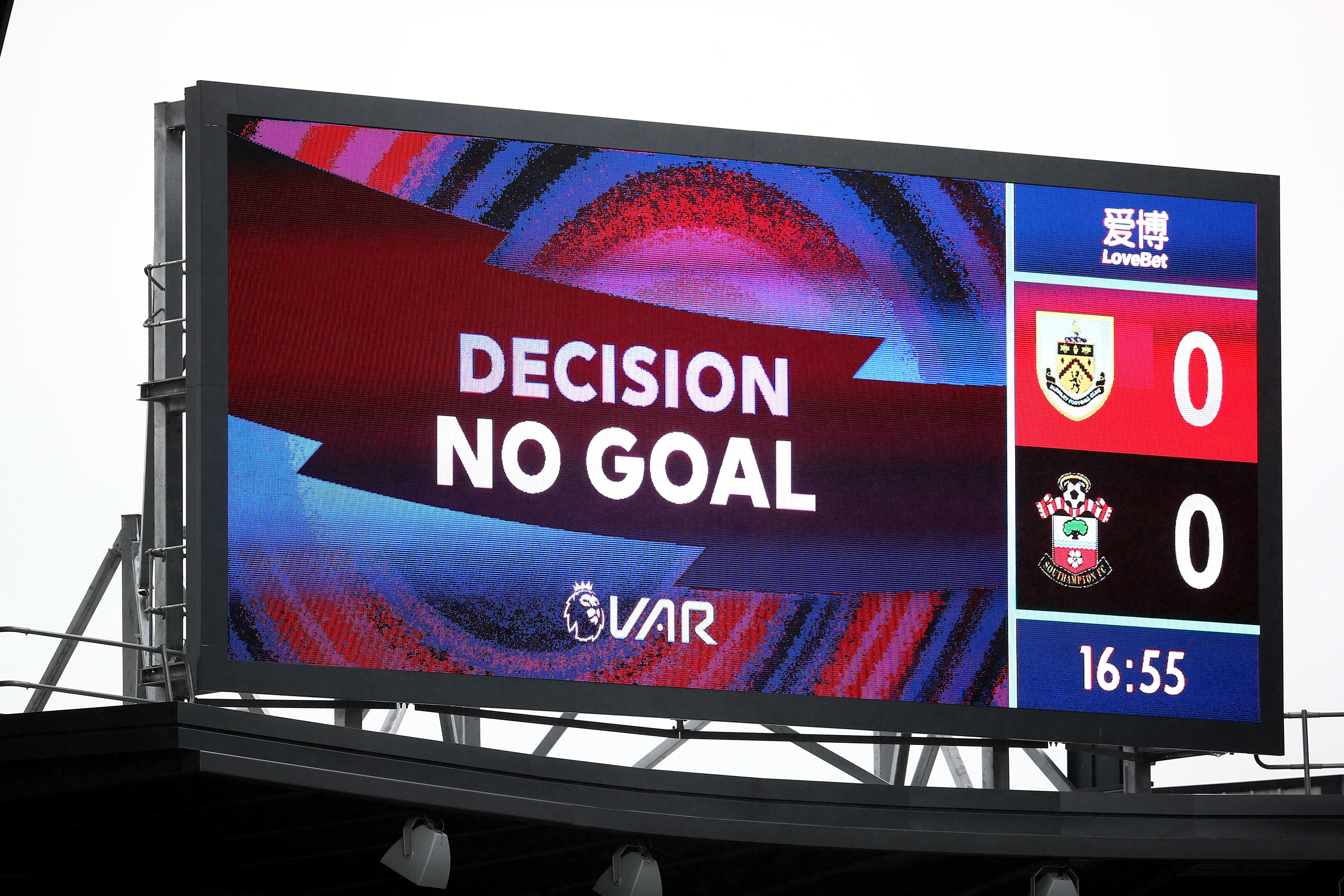 Burnley v Southampton - Premier League - Turf Moor