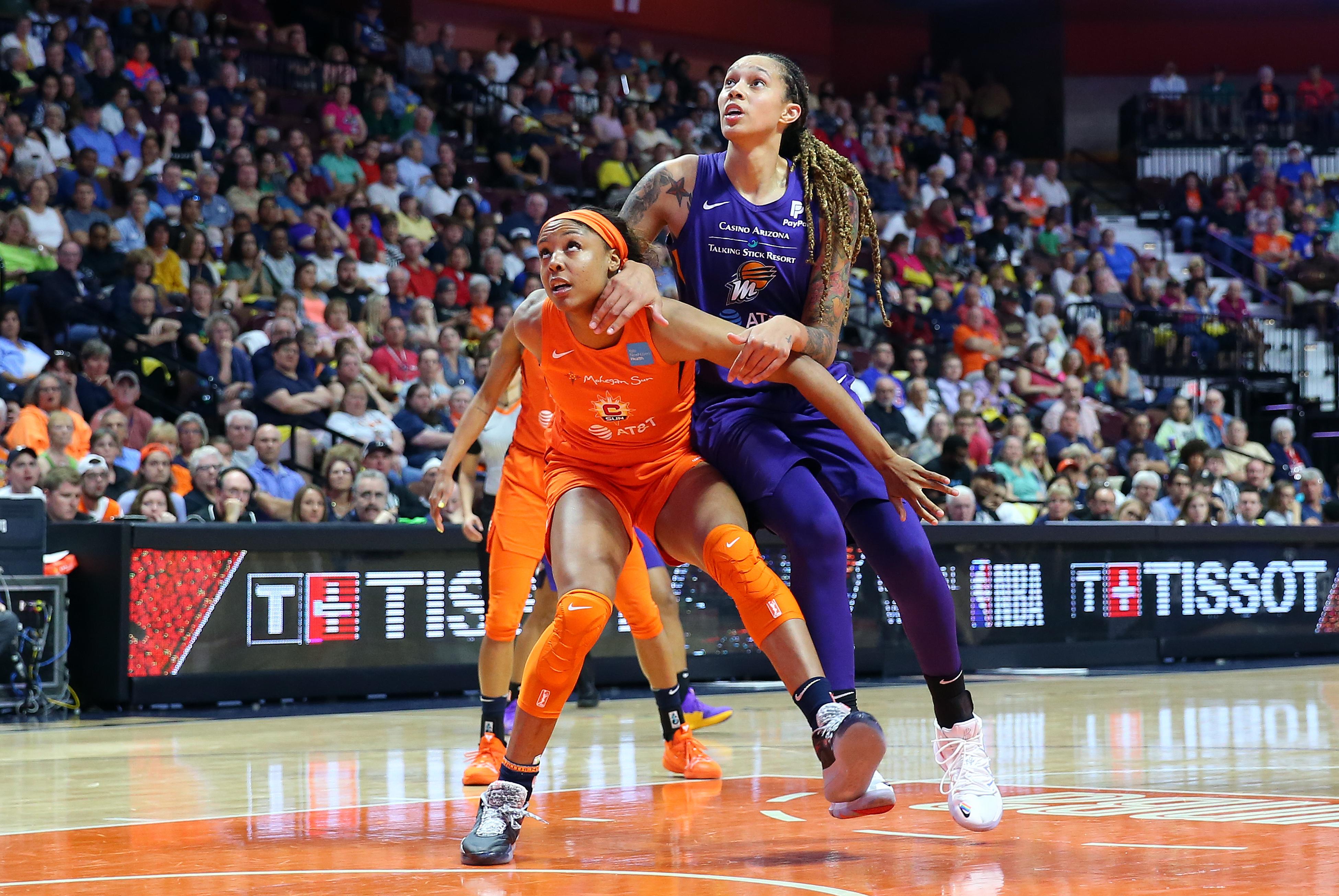 WNBA: JULY 12 Phoenix Mercury at Connecticut Sun