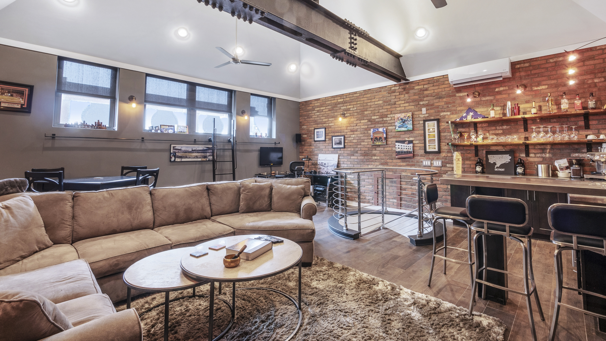 Two-story Book Cadillac penthouse wants $2.69M