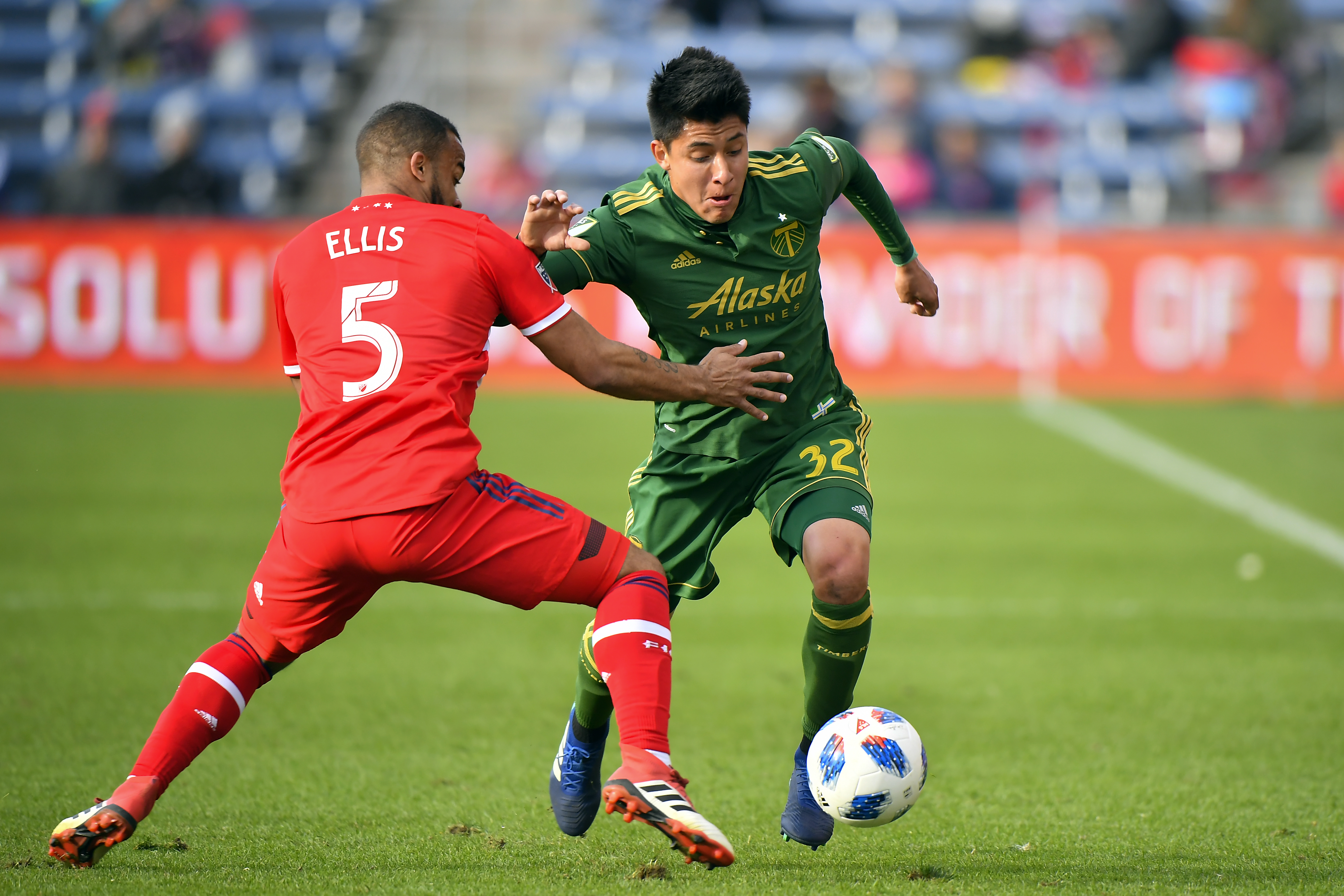 SOCCER: MAR 31 MLS - Portland Timbers at Chicago Fire