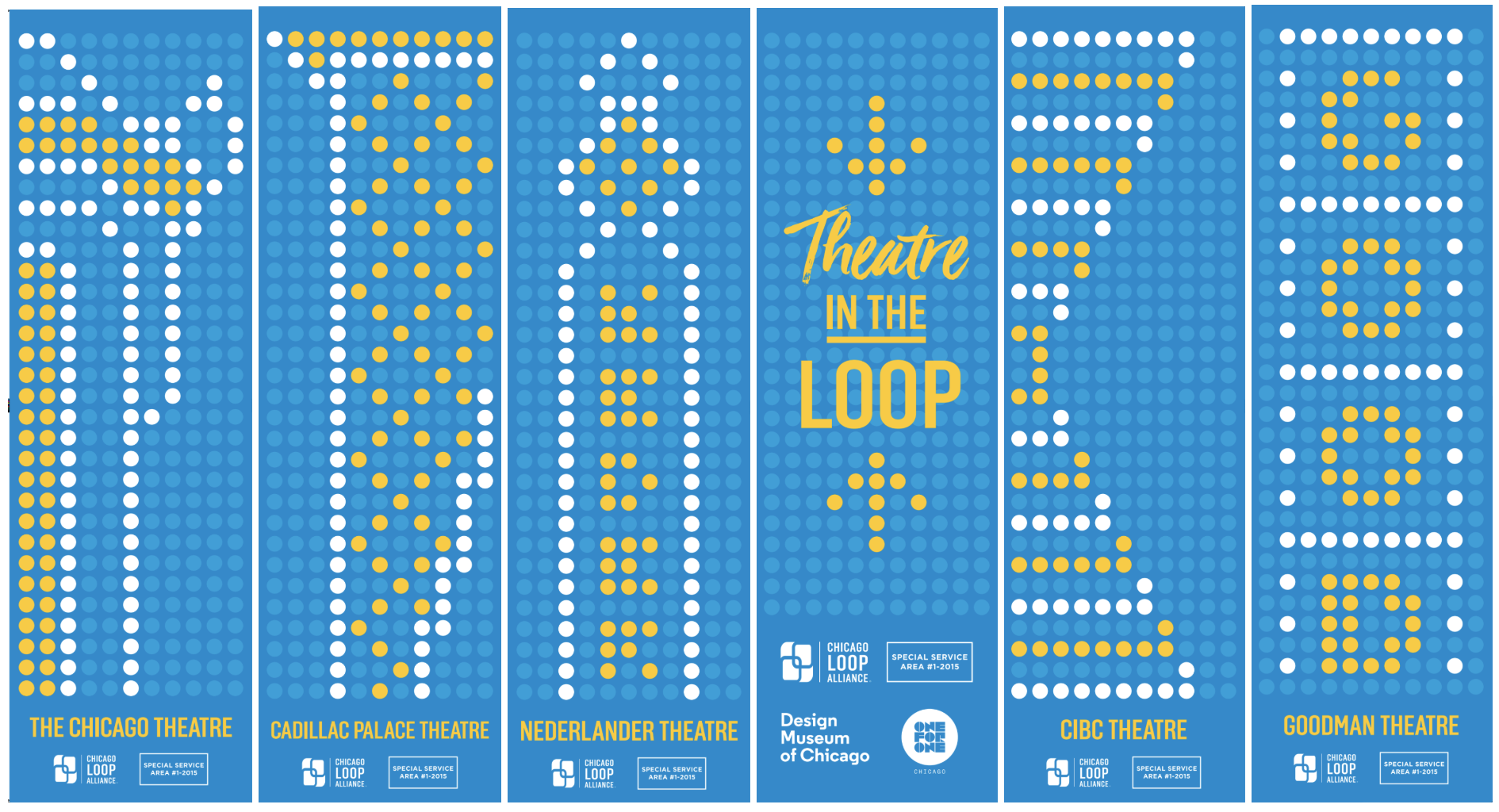 Iconic Loop theater marquees get graphic design makeover