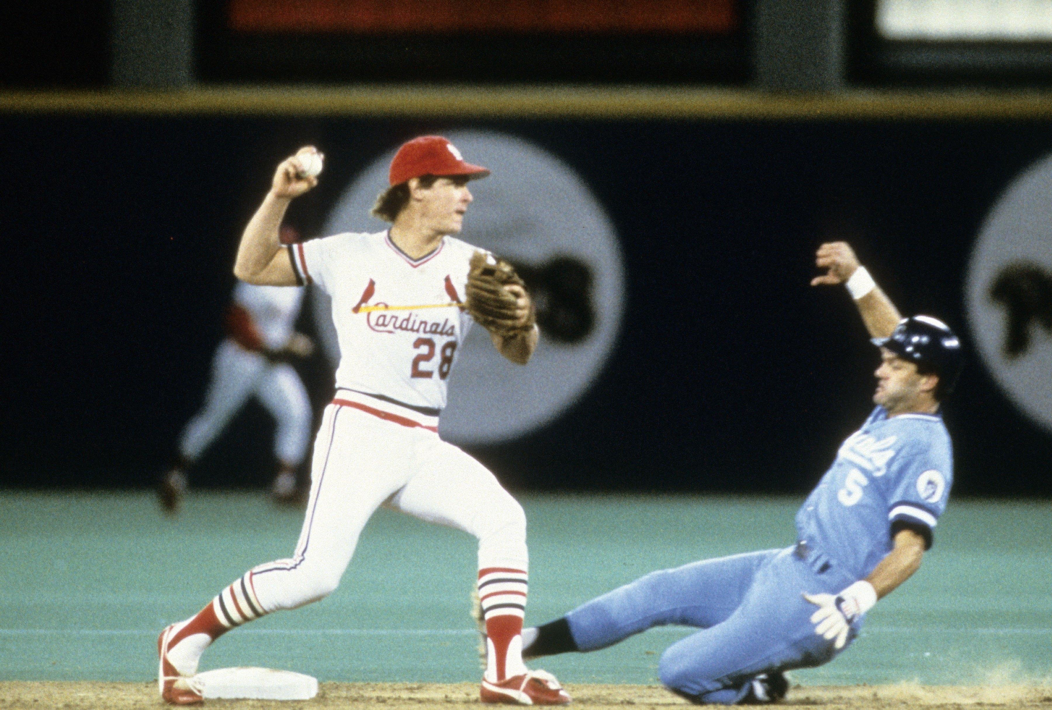 World Series: Kansas City Royal v St. Louis Cardinals, October, 1985