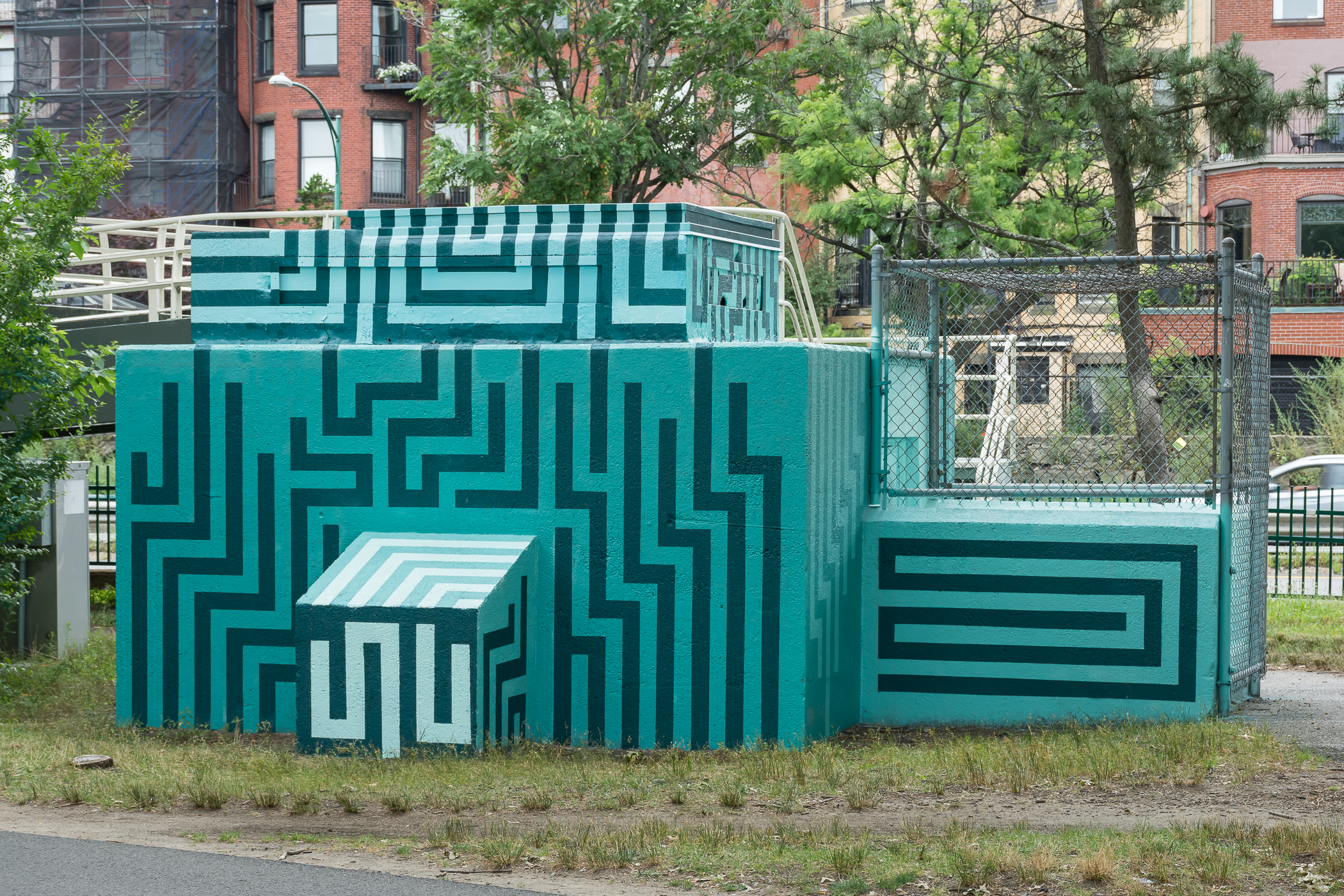 Charles River Esplanade's newest public art features transformed pumphouses